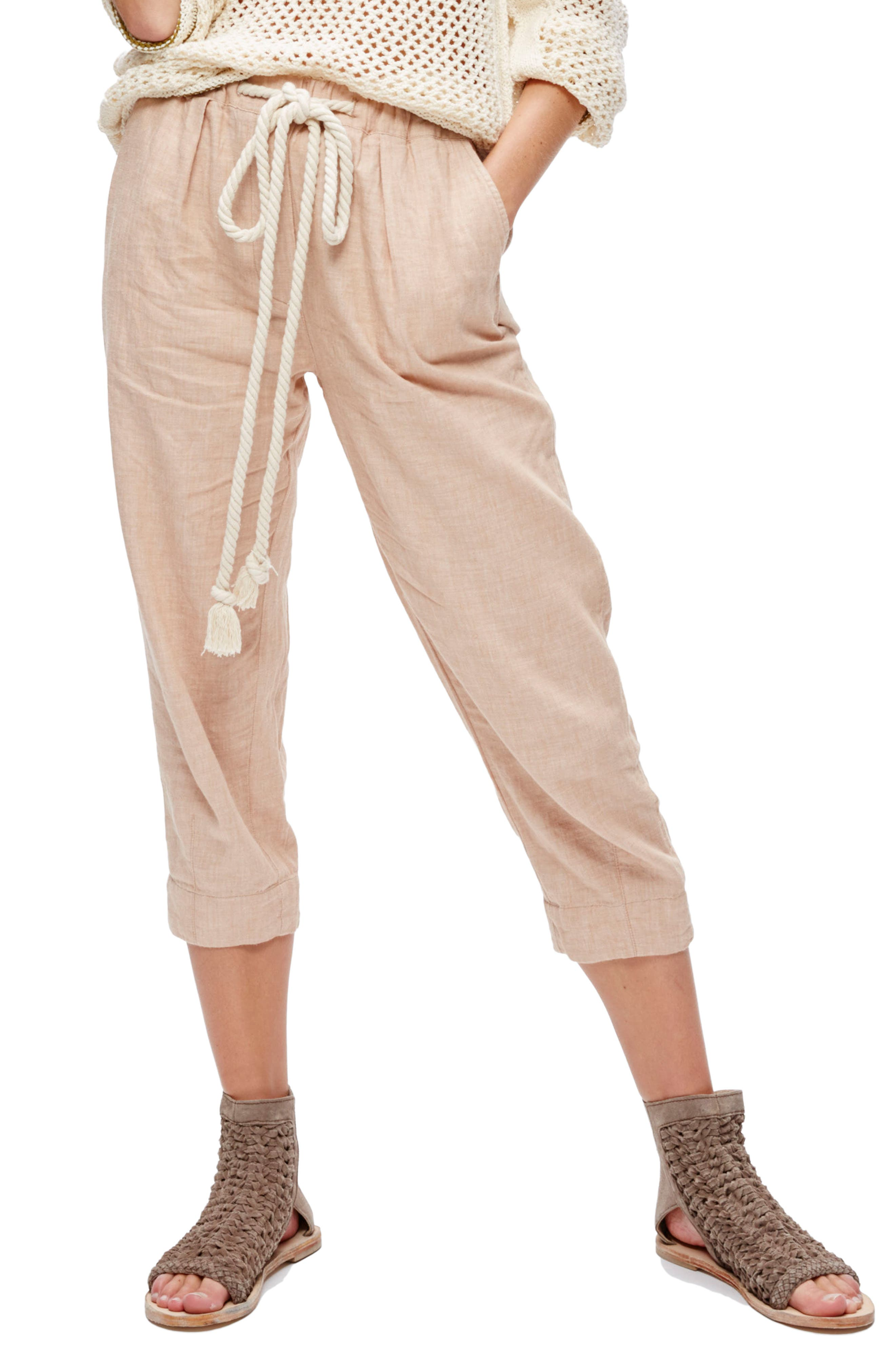 Alternate Image 1 Selected - Free People Everyday Drawstring Pants