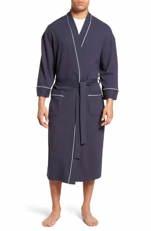 Majestic International Waffle Knit Robe (Big   Tall)