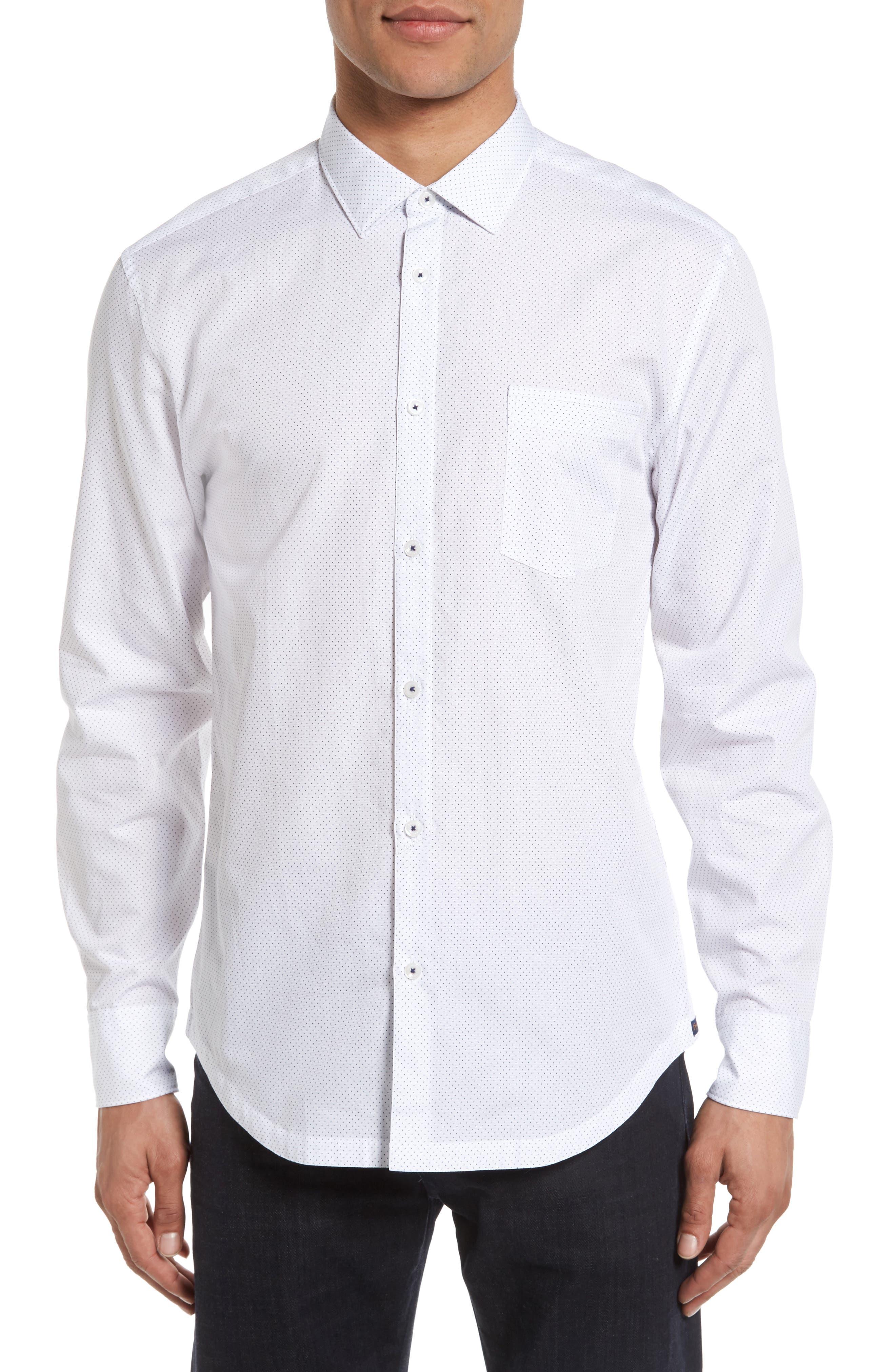 Good Man Brand On Point Trim Fit Sport Shirt