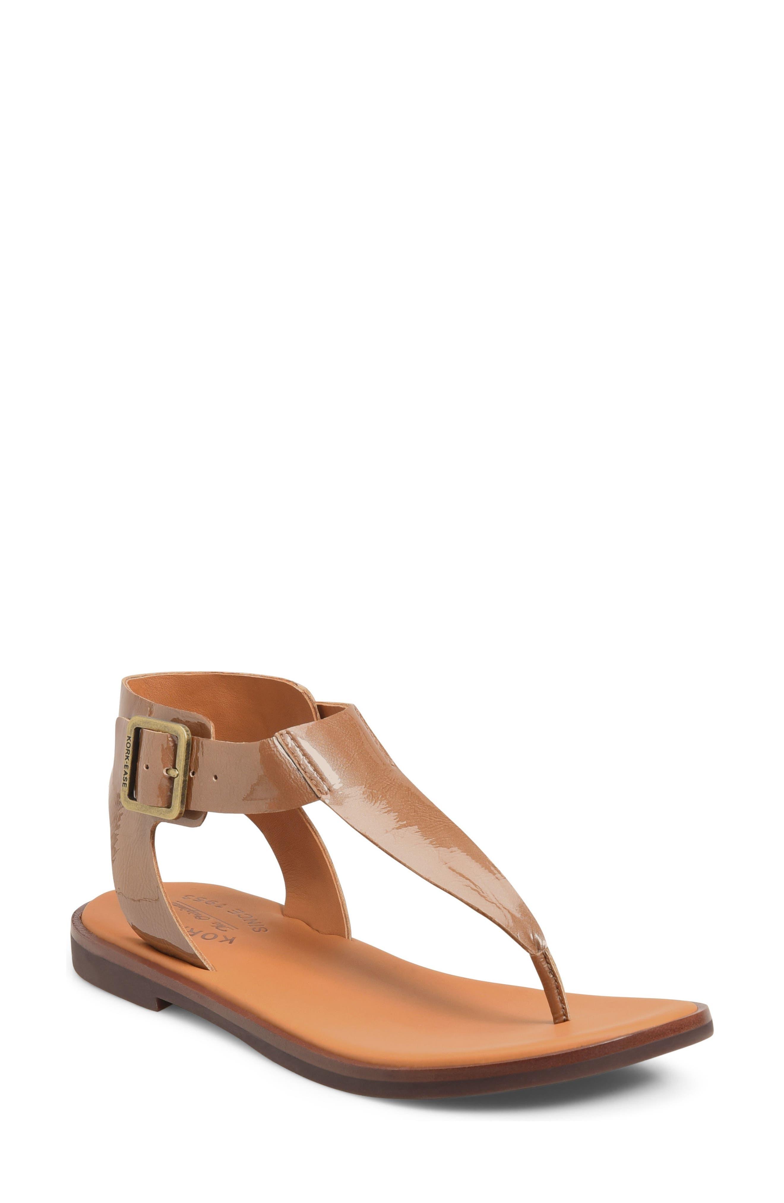Kork-Ease® 'Catriona' Flat Sandal (Women)