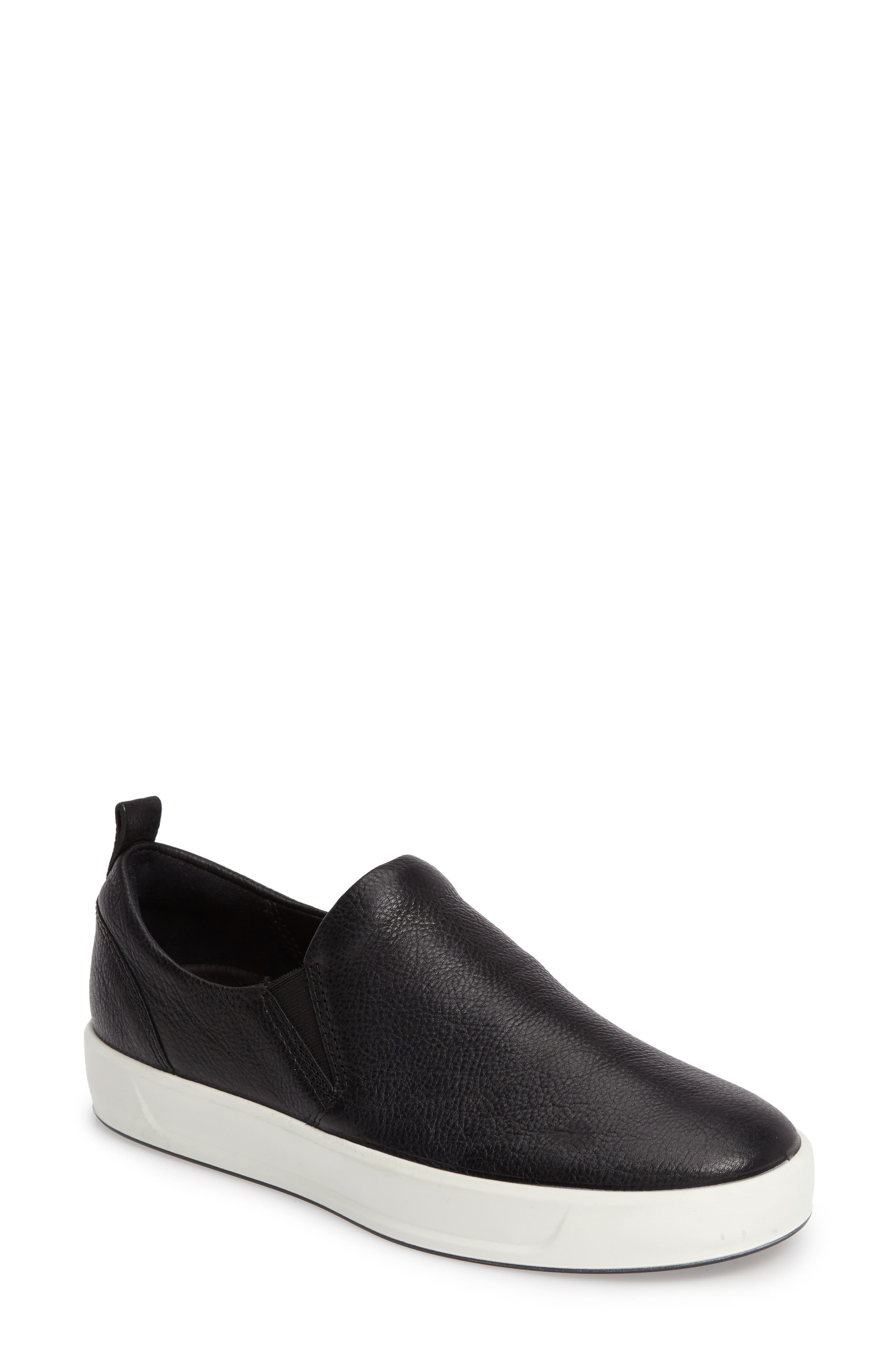 Alternate Image 1 Selected - ECCO Soft 8 Slip-On Sneaker (Women)