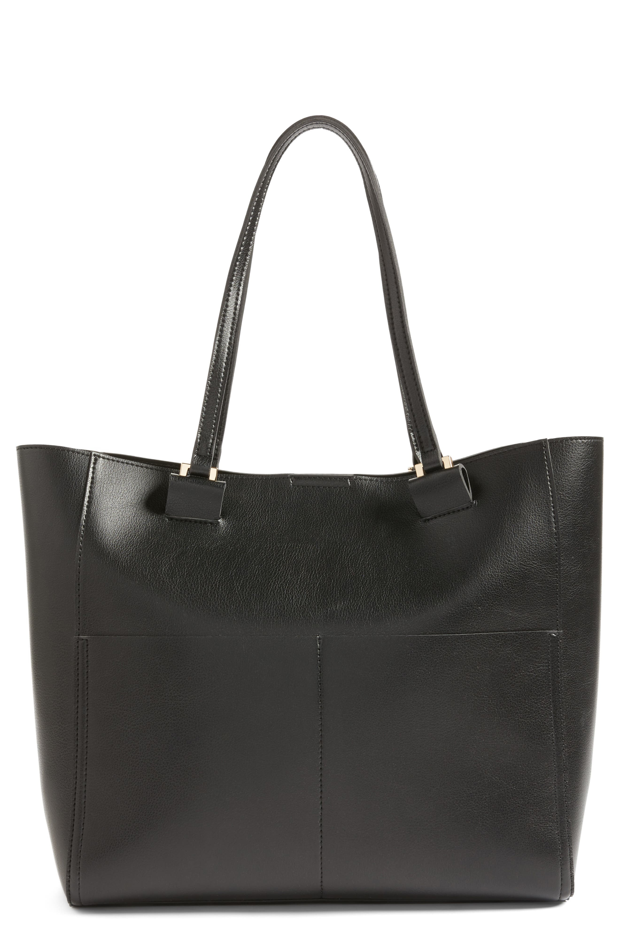 Alternate Image 1 Selected - Sole Society Glenn Faux Leather Tote