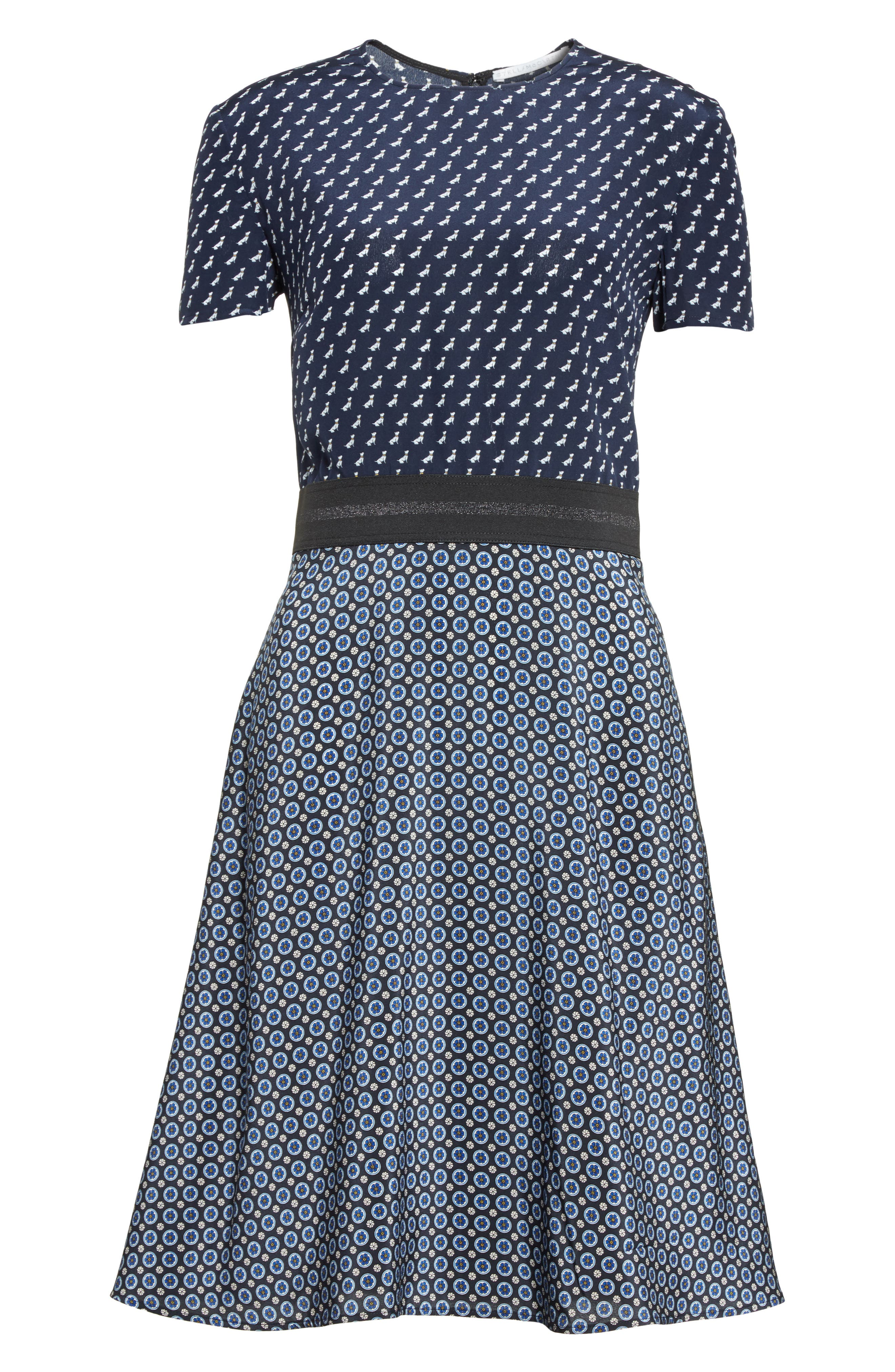 Alternate Image 4  - Stella McCartney Windsor Print Silk Dress
