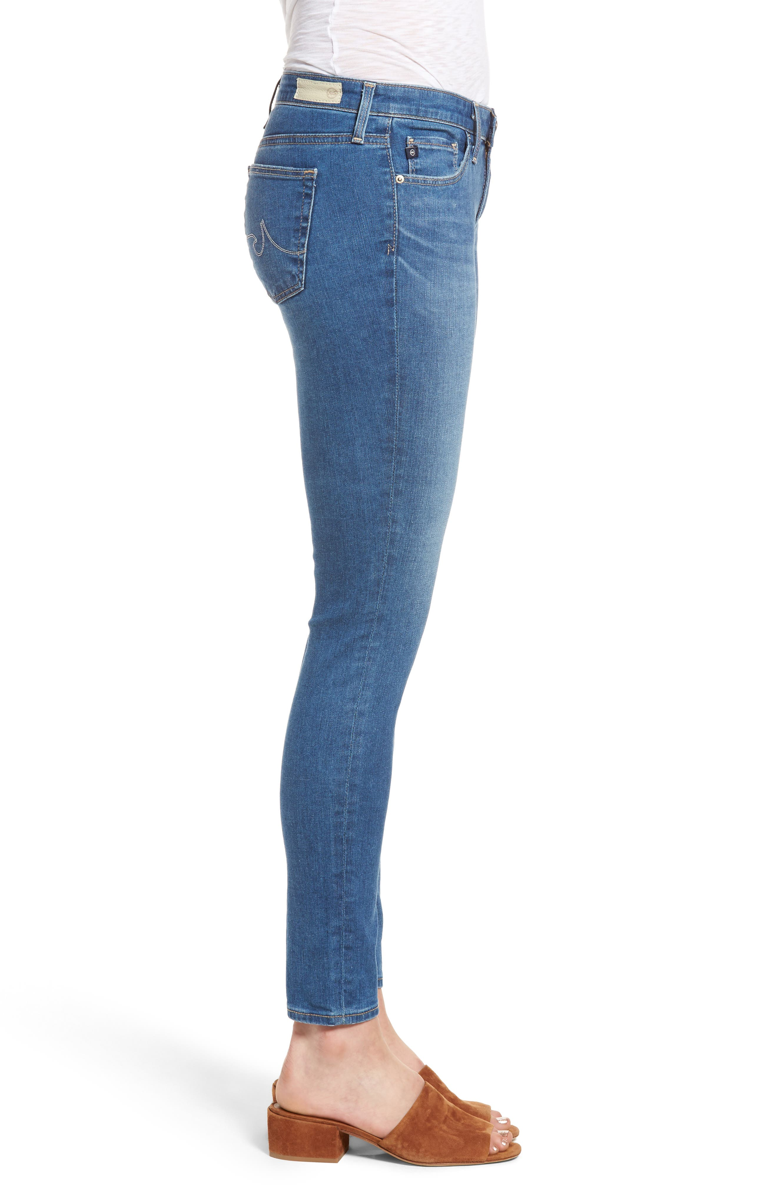 Alternate Image 3  - AG The Legging Ankle Jeans (Emanate)
