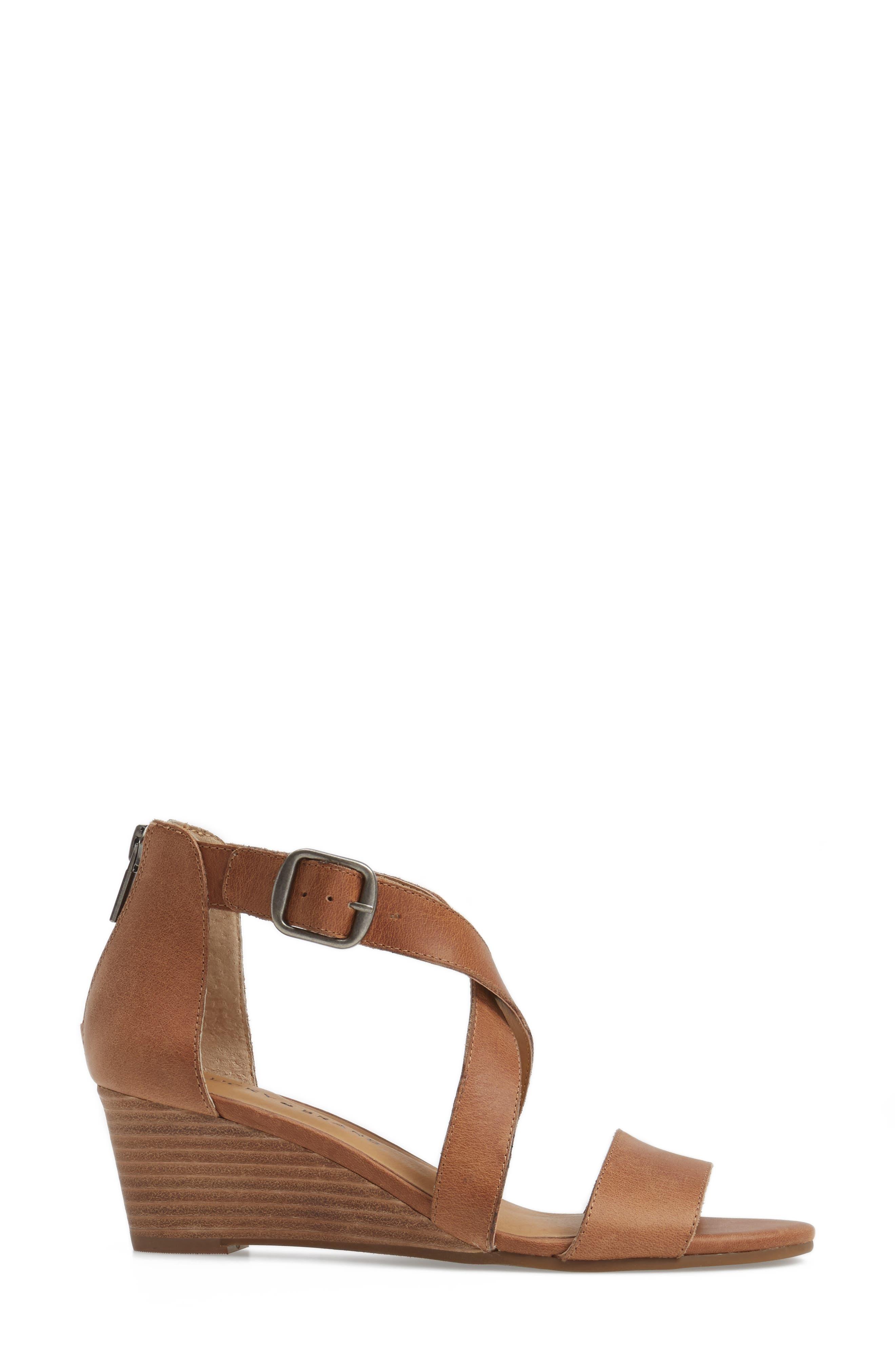 Alternate Image 3  - Lucky Brand Jenley Wedge Sandal (Women)