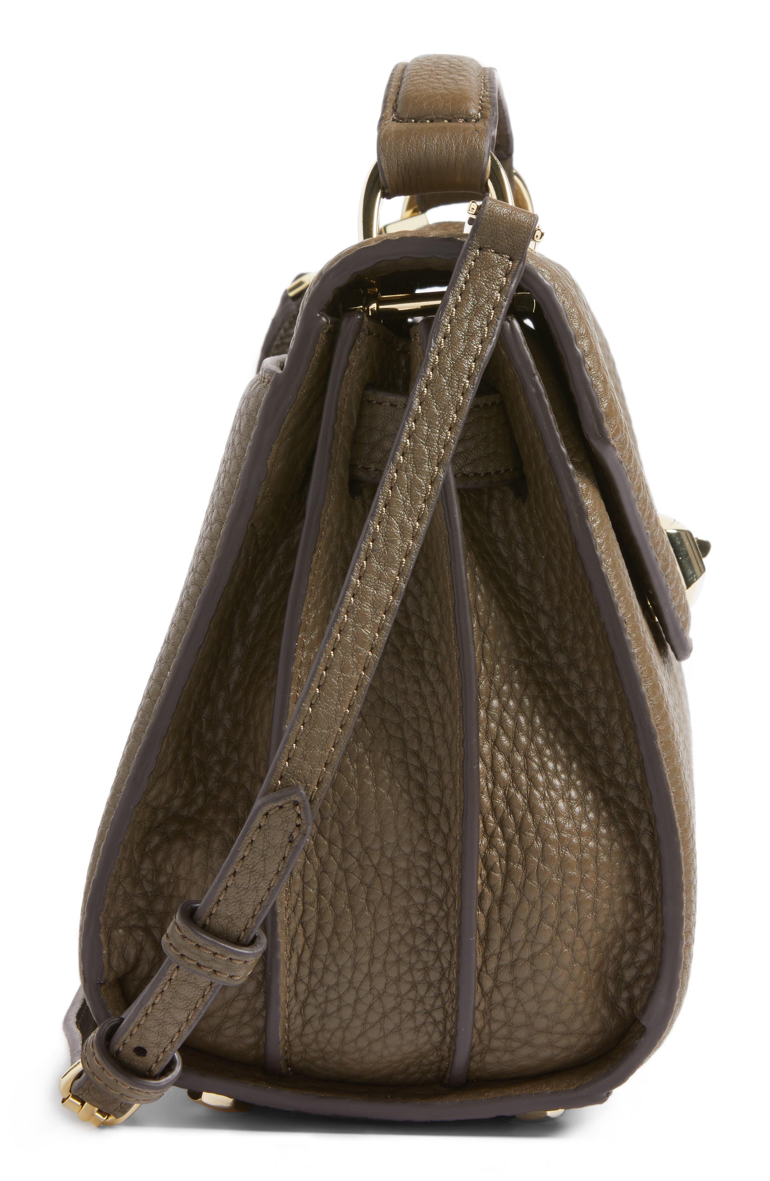 Alternate Image 5  - Rebecca Minkoff Top Handle Leather Satchel (Nordstrom Exclusive)