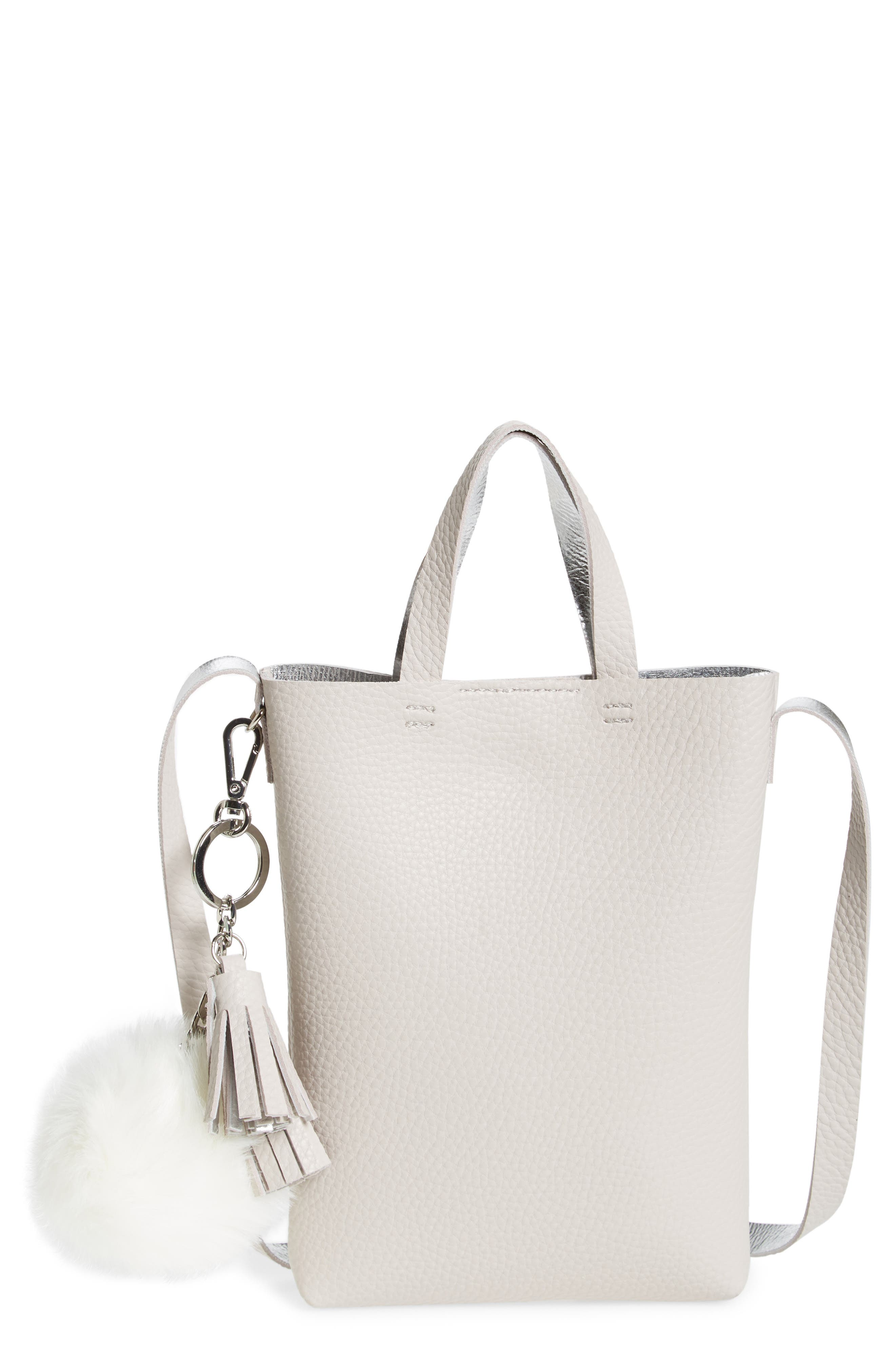 Alternate Image 1 Selected - BP. Mini Pouch Faux Leather Phone Crossbody Bag