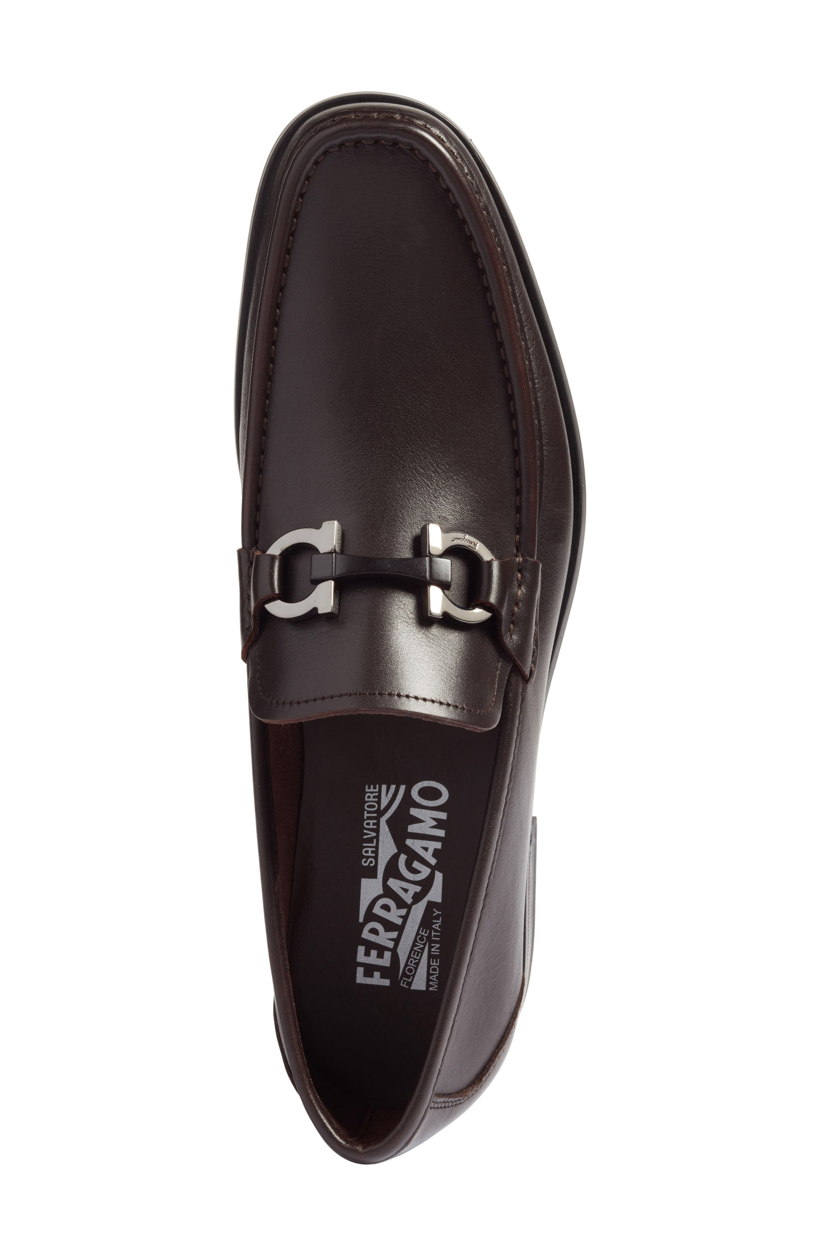 Alternate Image 5  - Salvatore Ferragamo Grandioso Bit Loafer (Men)