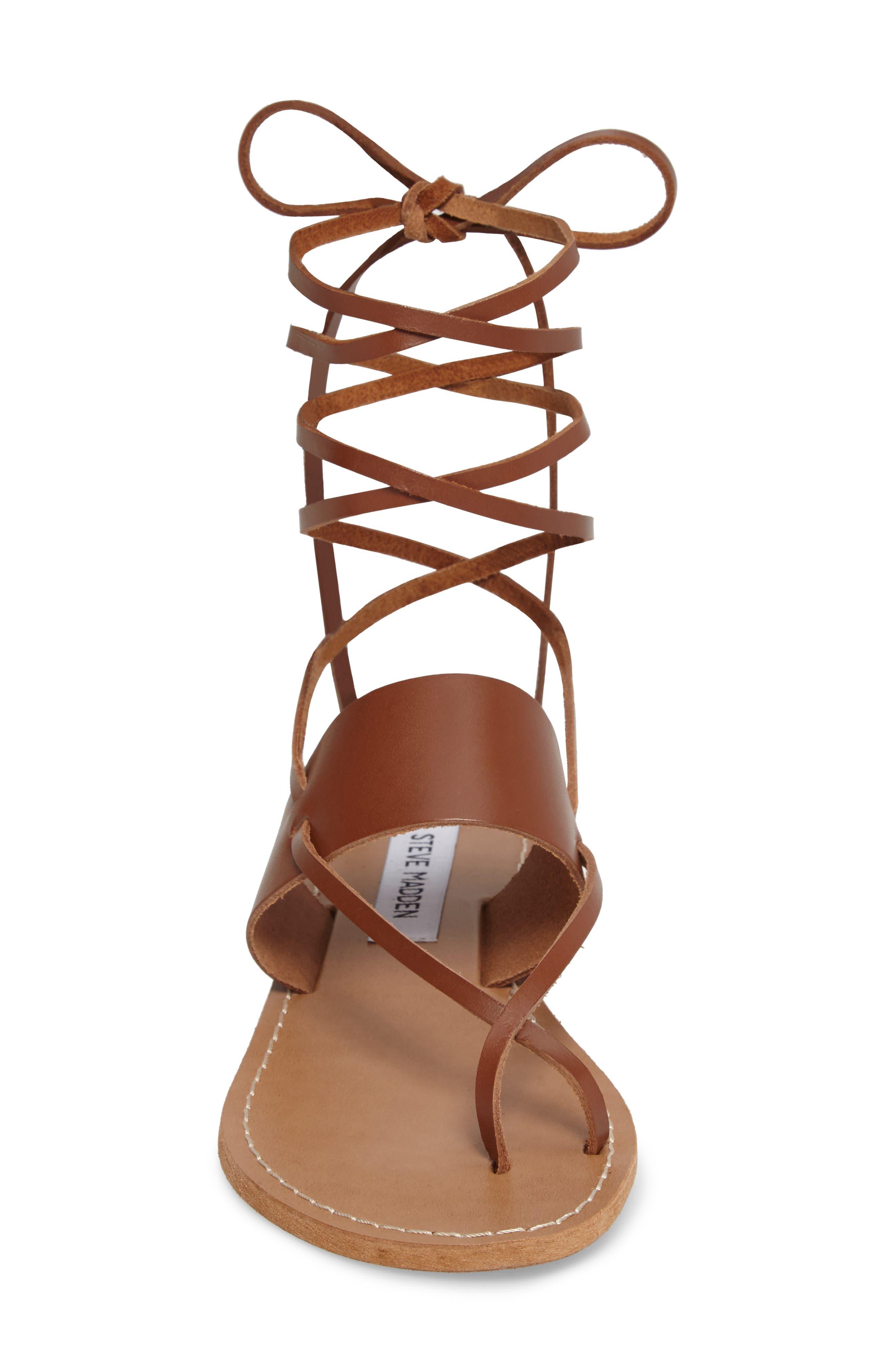 Alternate Image 4  - Steve Madden Bianca Lace-Up Sandal (Women)