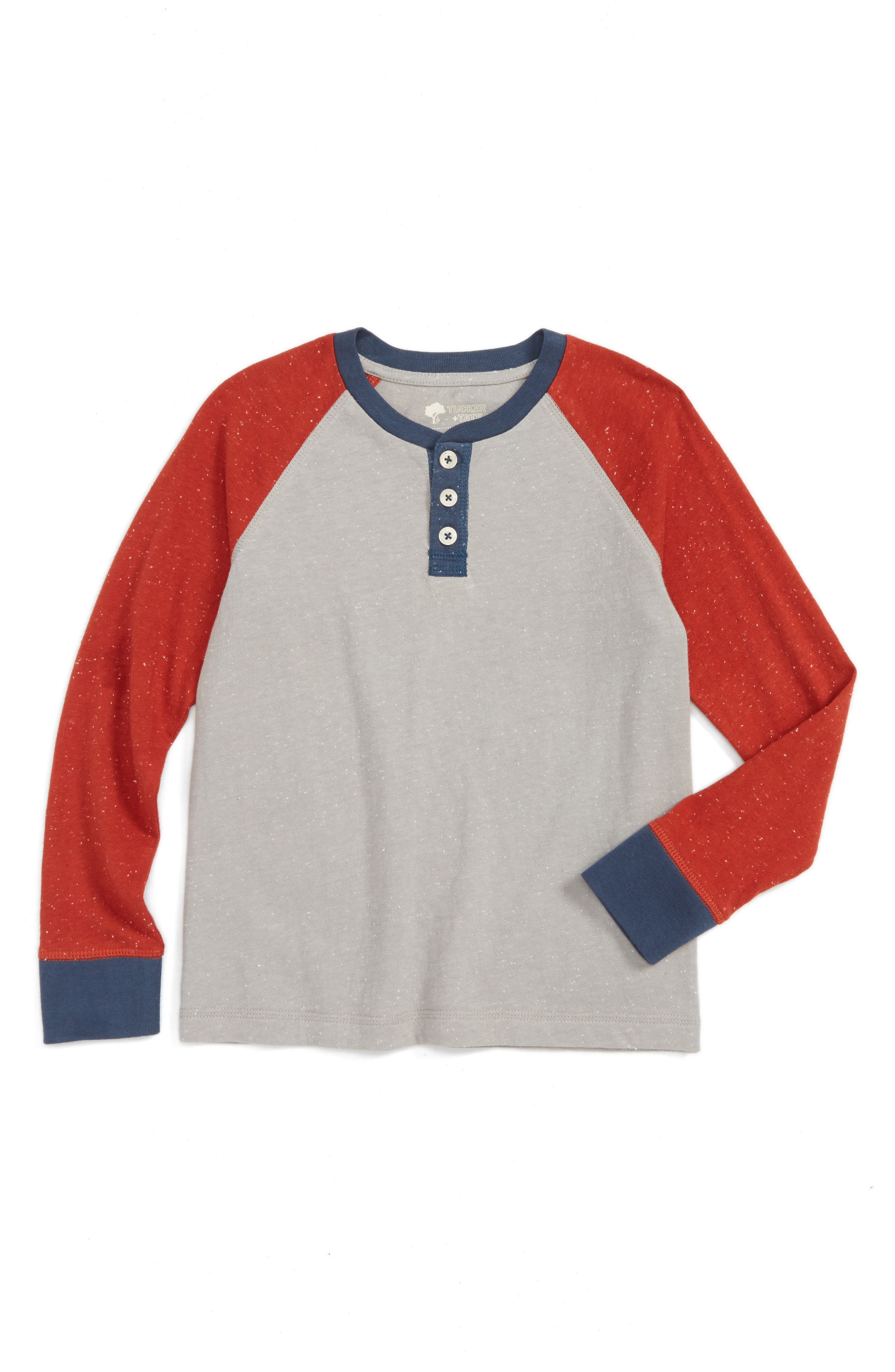 Tucker + Tate Colorblock Henley T-Shirt (Toddler Boys & Little Boys)
