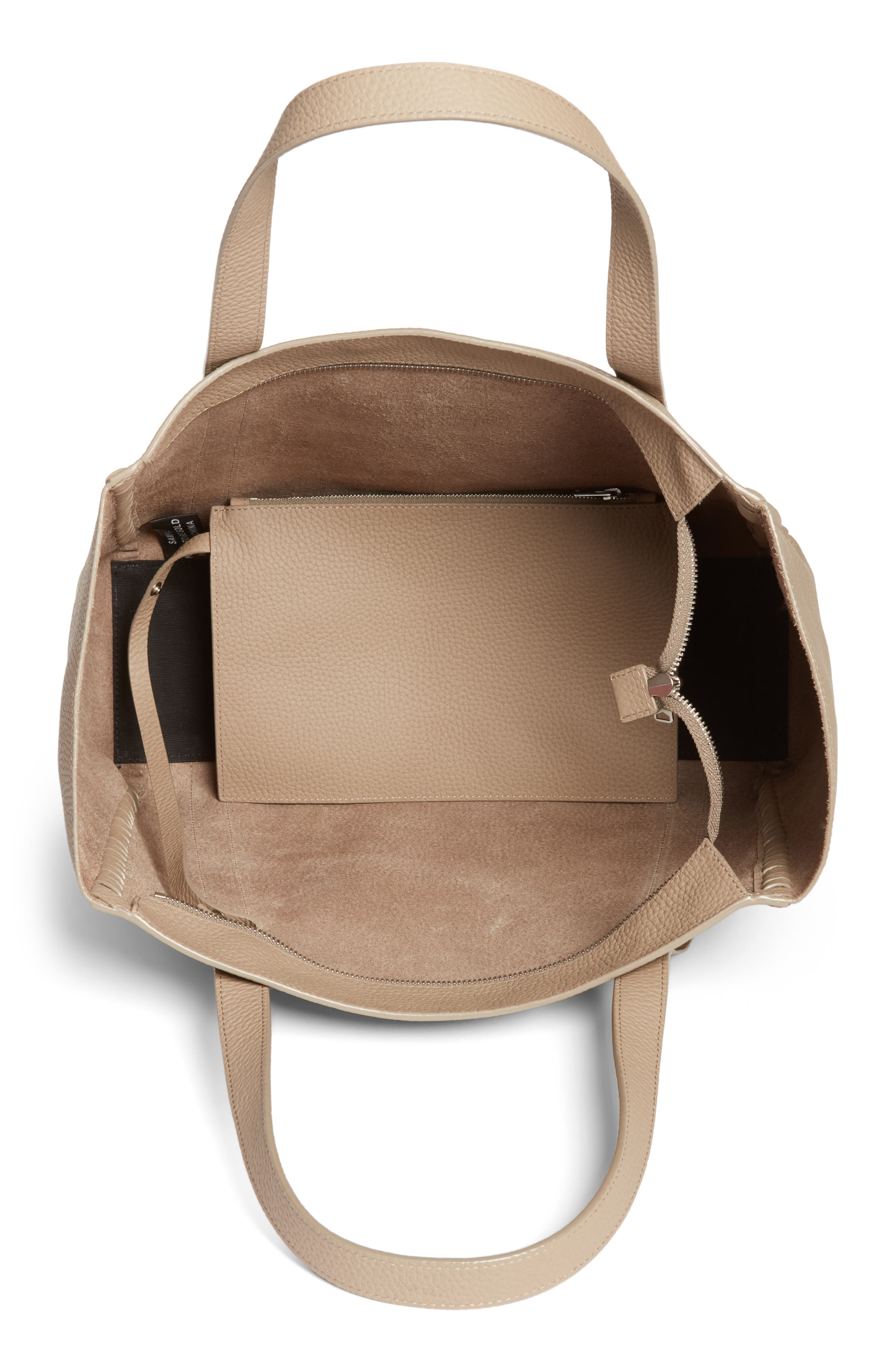 Alternate Image 4  - ALLSAINTS Raye Leather Tote (Nordstrom Exclusive)