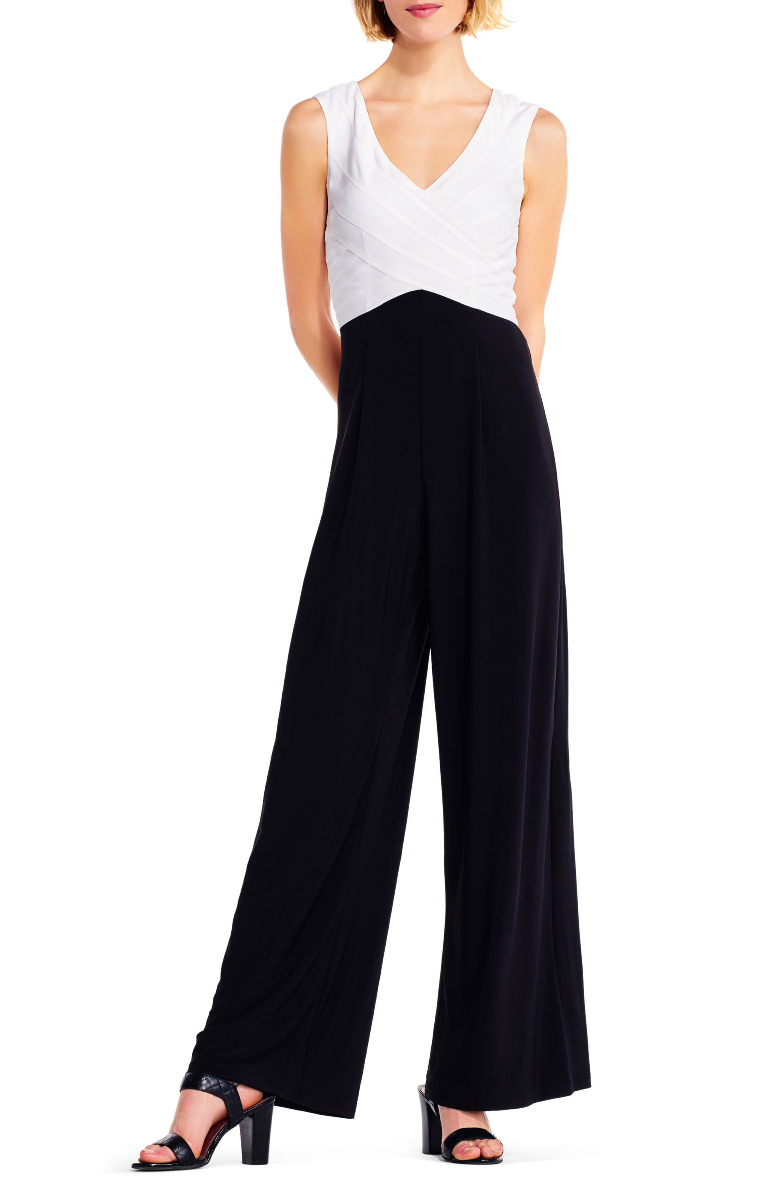 Adrianna Papell Jersey Jumpsuit