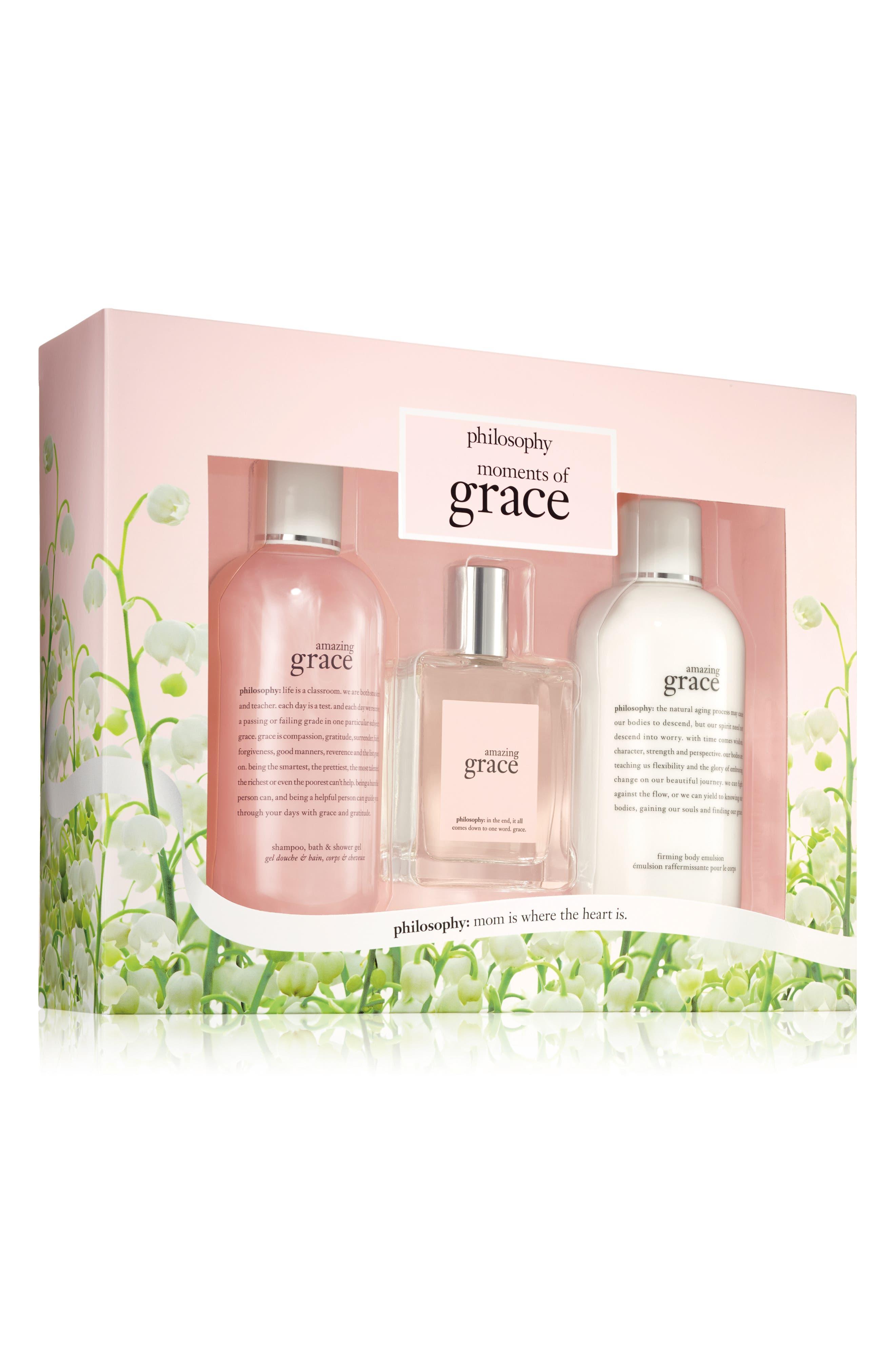 Main Image - philosophy amazing grace set ($88 Value)