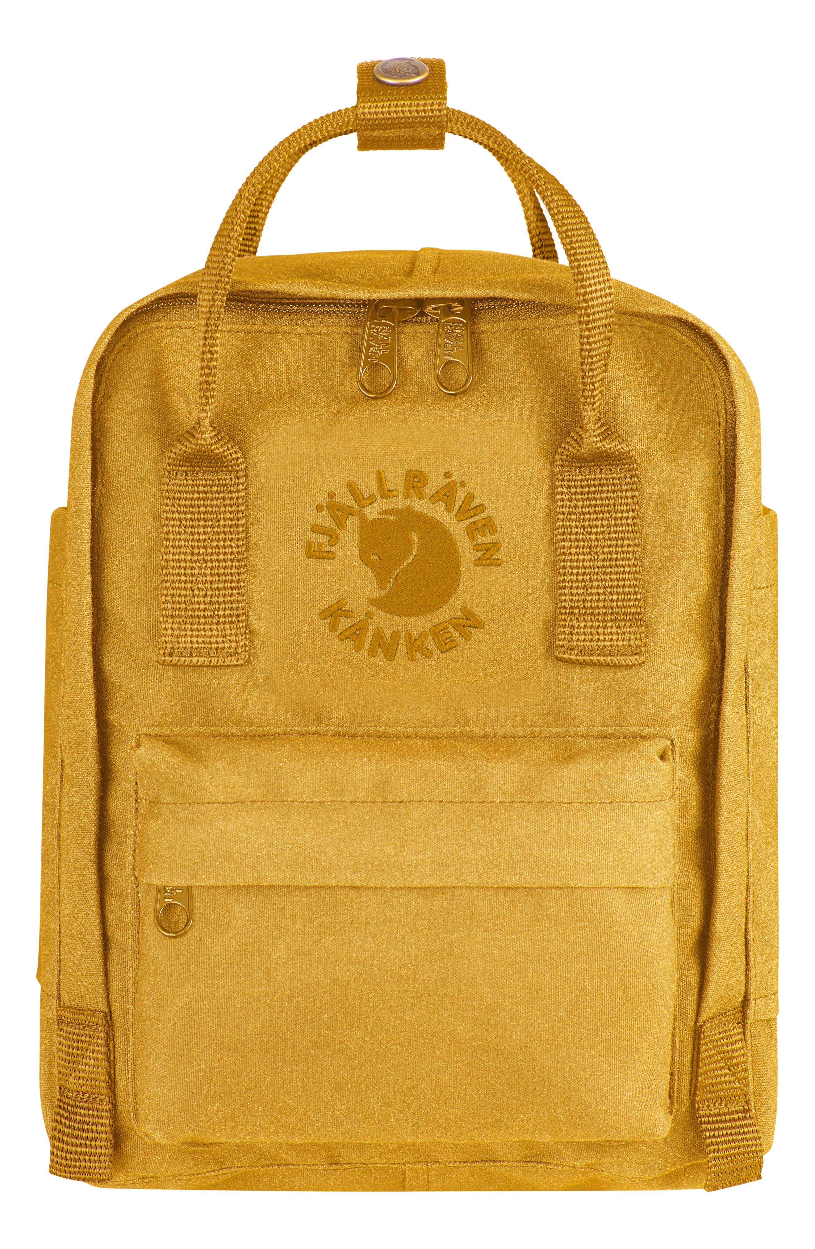 Fjällräven Mini Re-Kånken Water Resistant Backpack