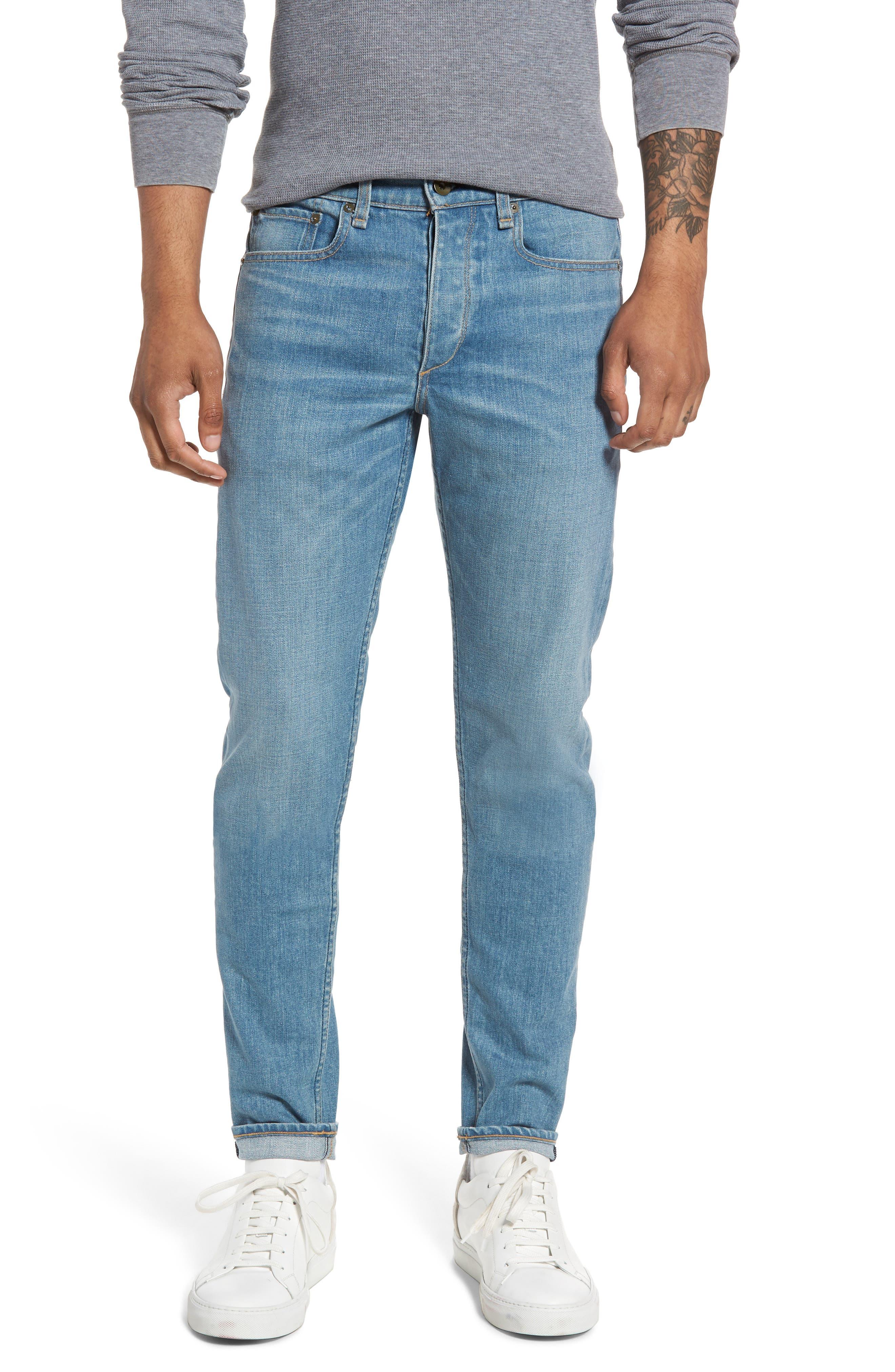 rag & bone Fit 1 Skinny Fit Jeans (Finnertys)