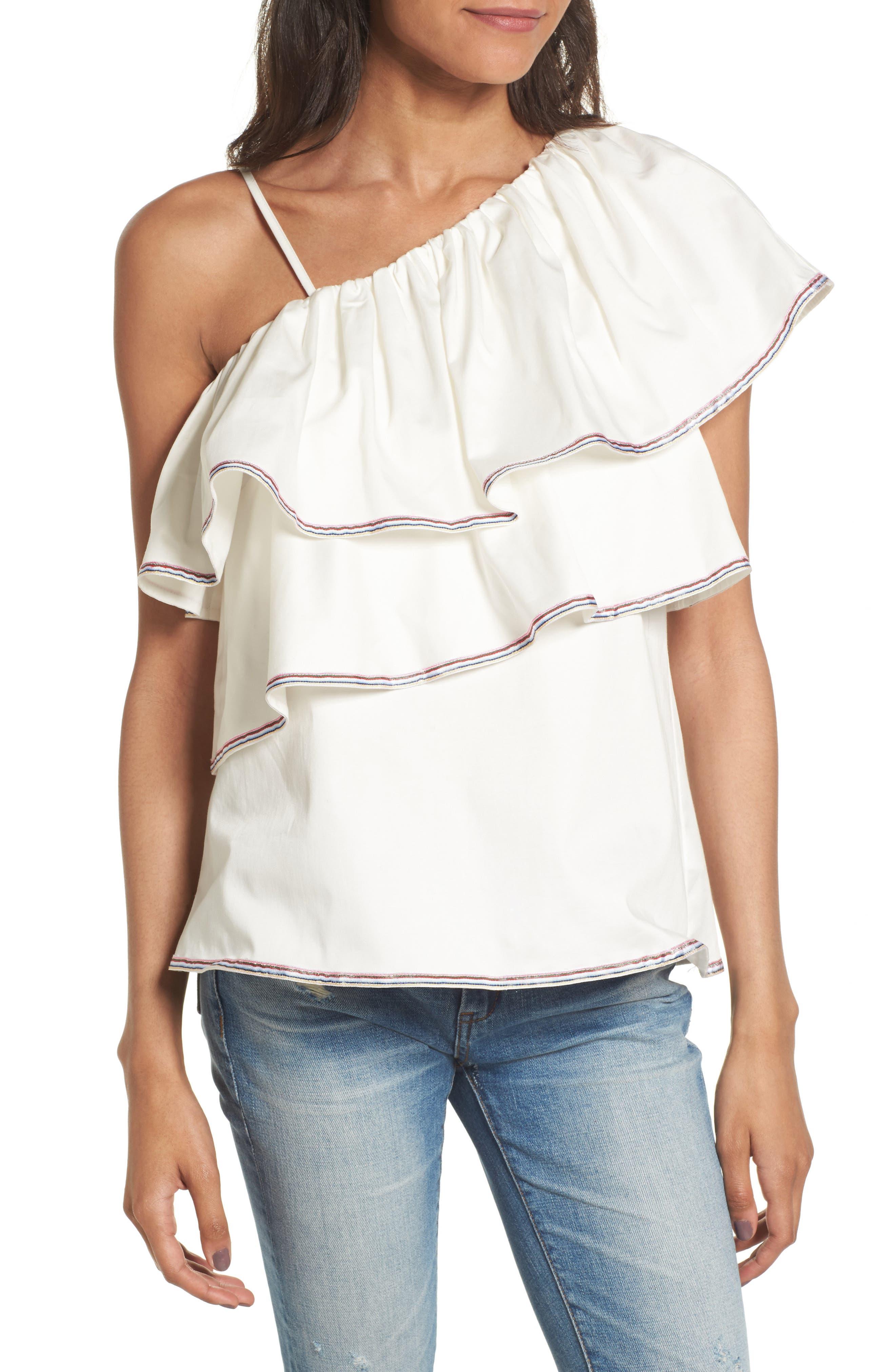 devlin Lauretta One-Shoulder Top