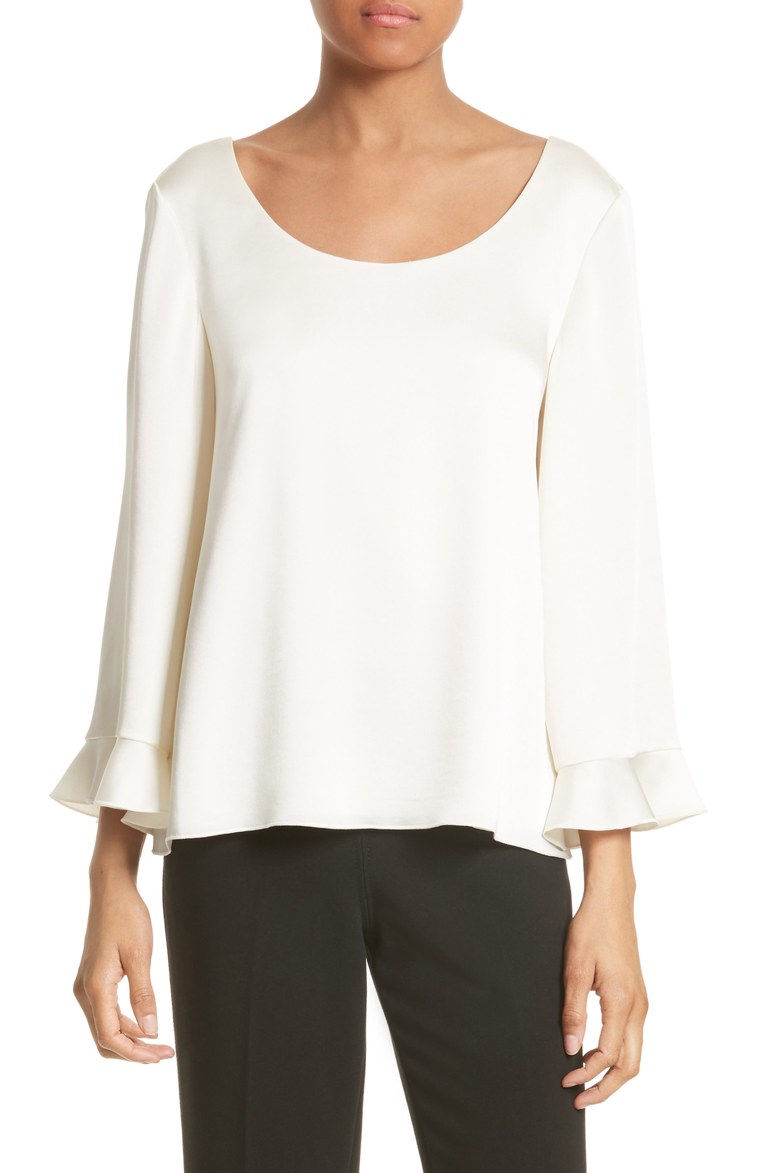Elizabeth and James Karlotta Ruffle Sleeve Blouse