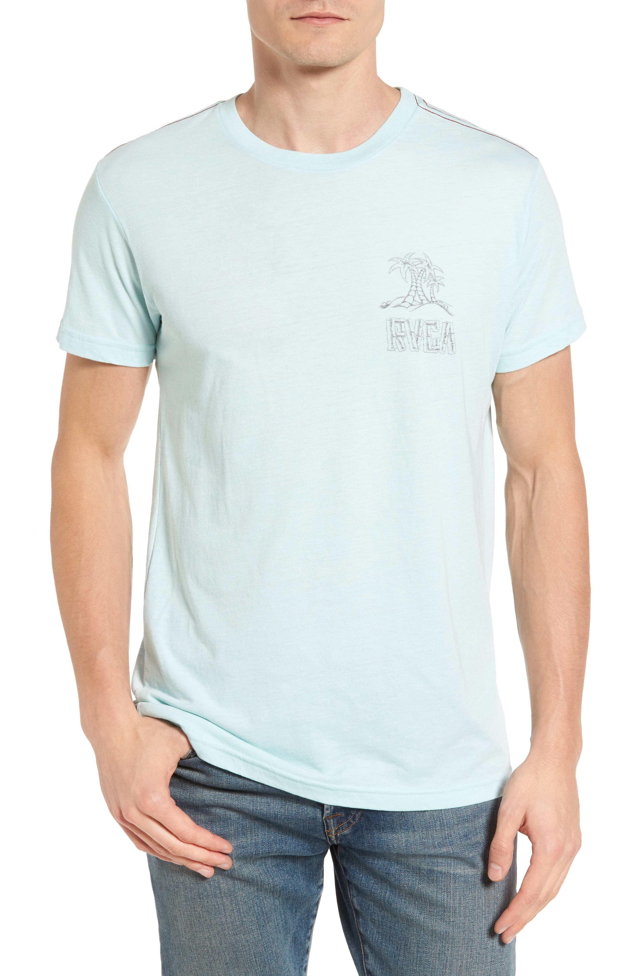 RVCA Hula Girl Graphic T-Shirt