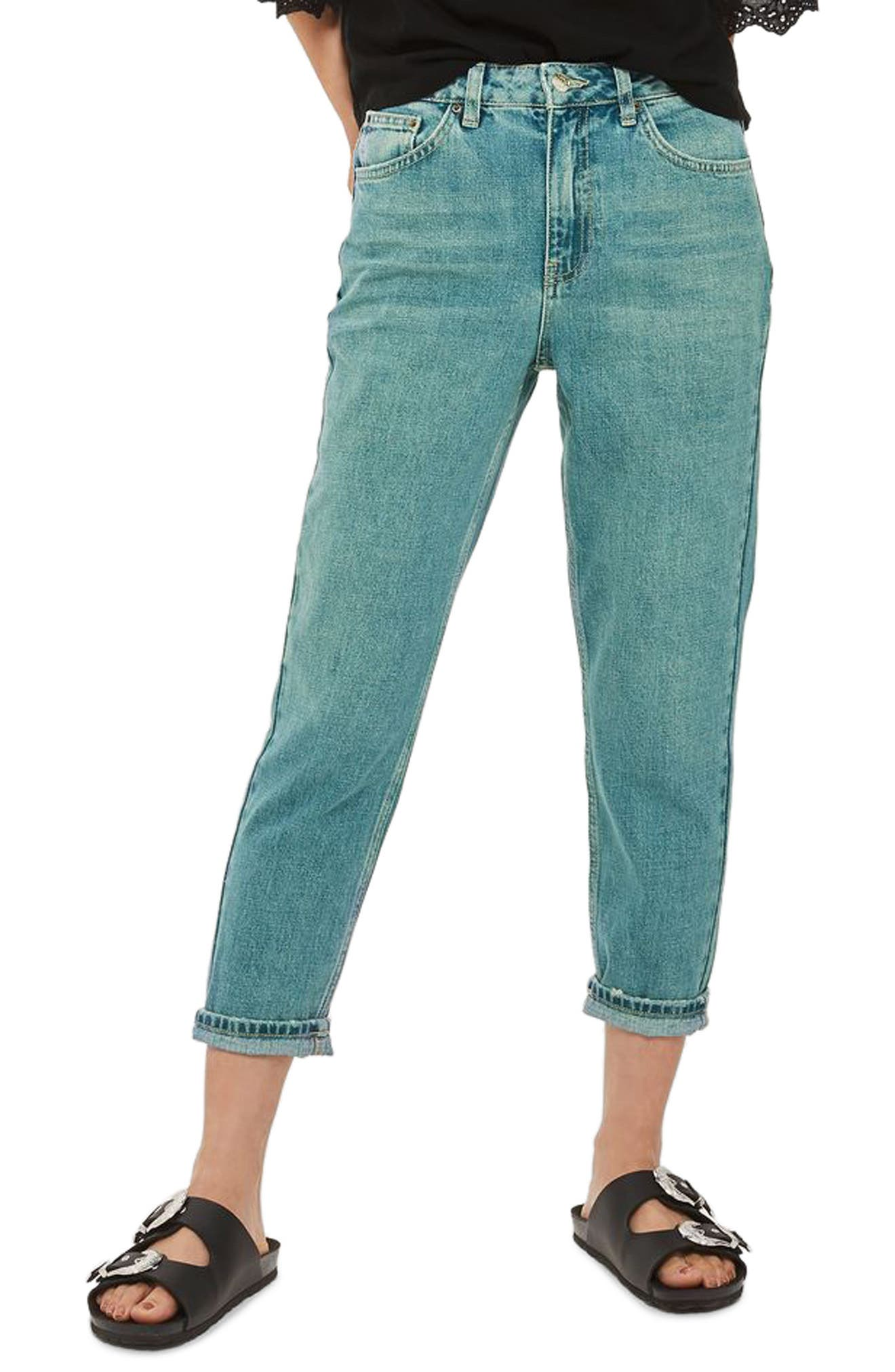 Topshop Mom Jeans (Petite)