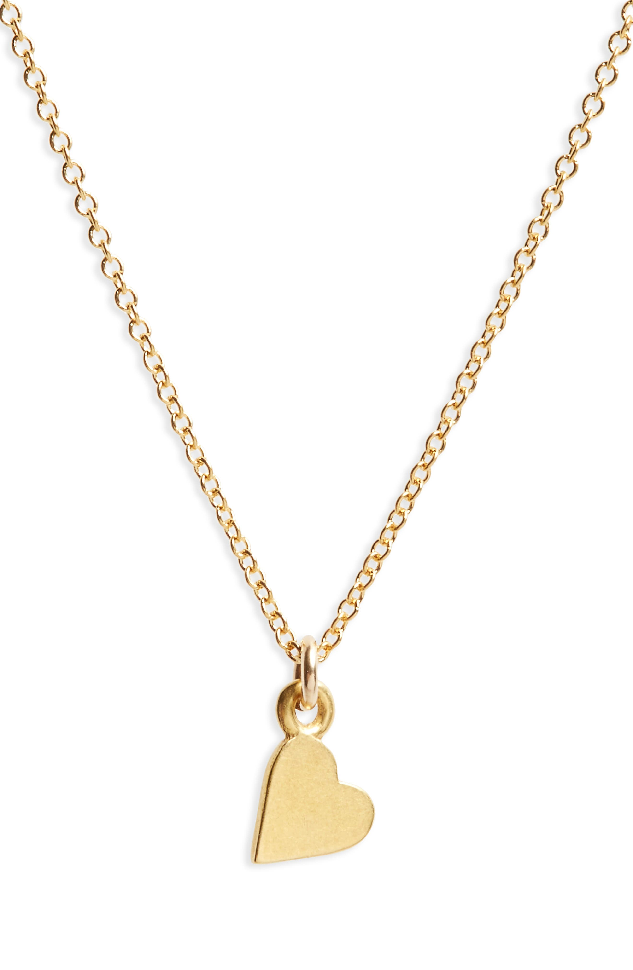 Alternate Image 3  - Dogeared Maid of Honor Heart Pendant Necklace