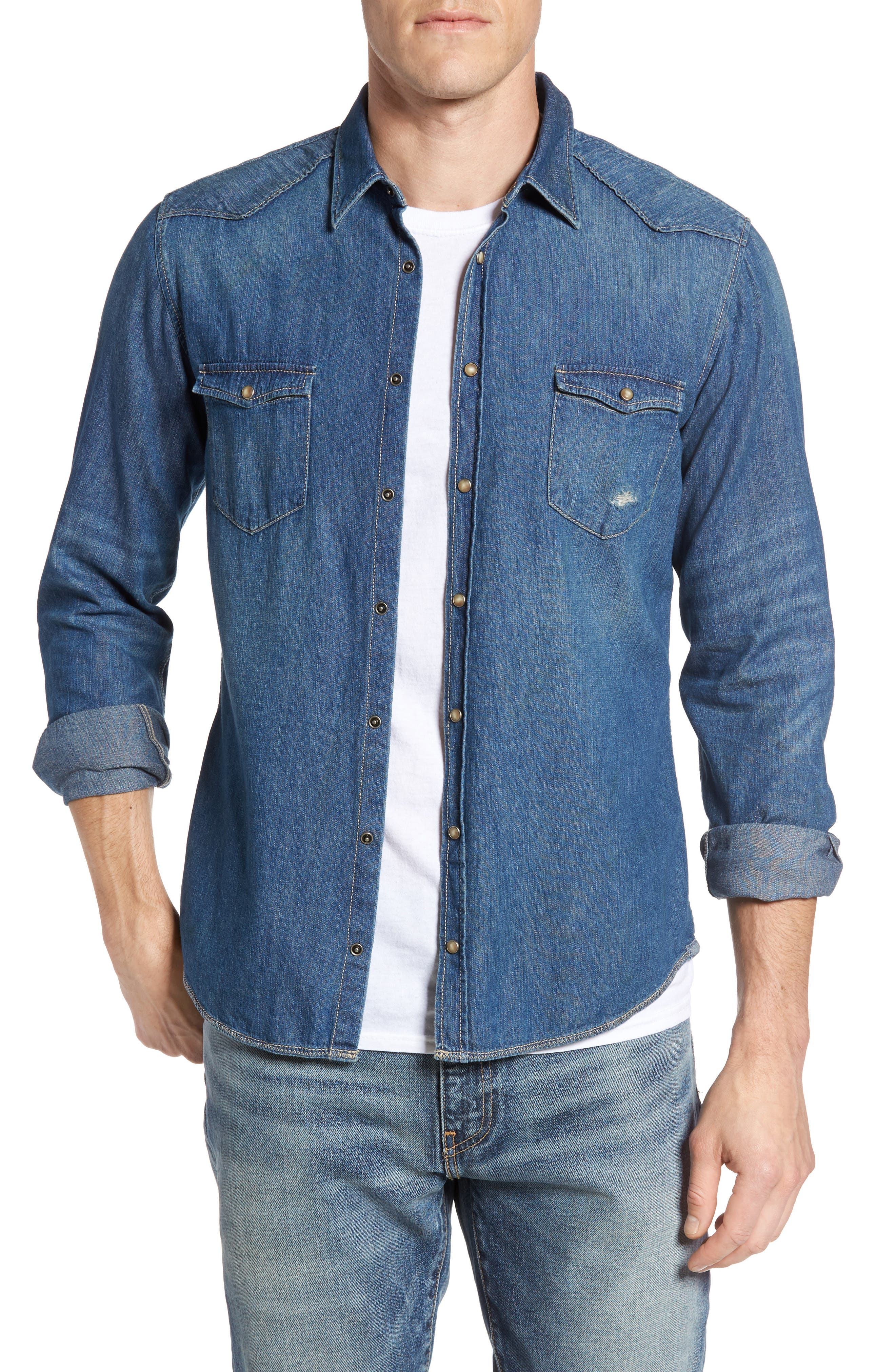 BOSS Orange Erodeo Denim Shirt