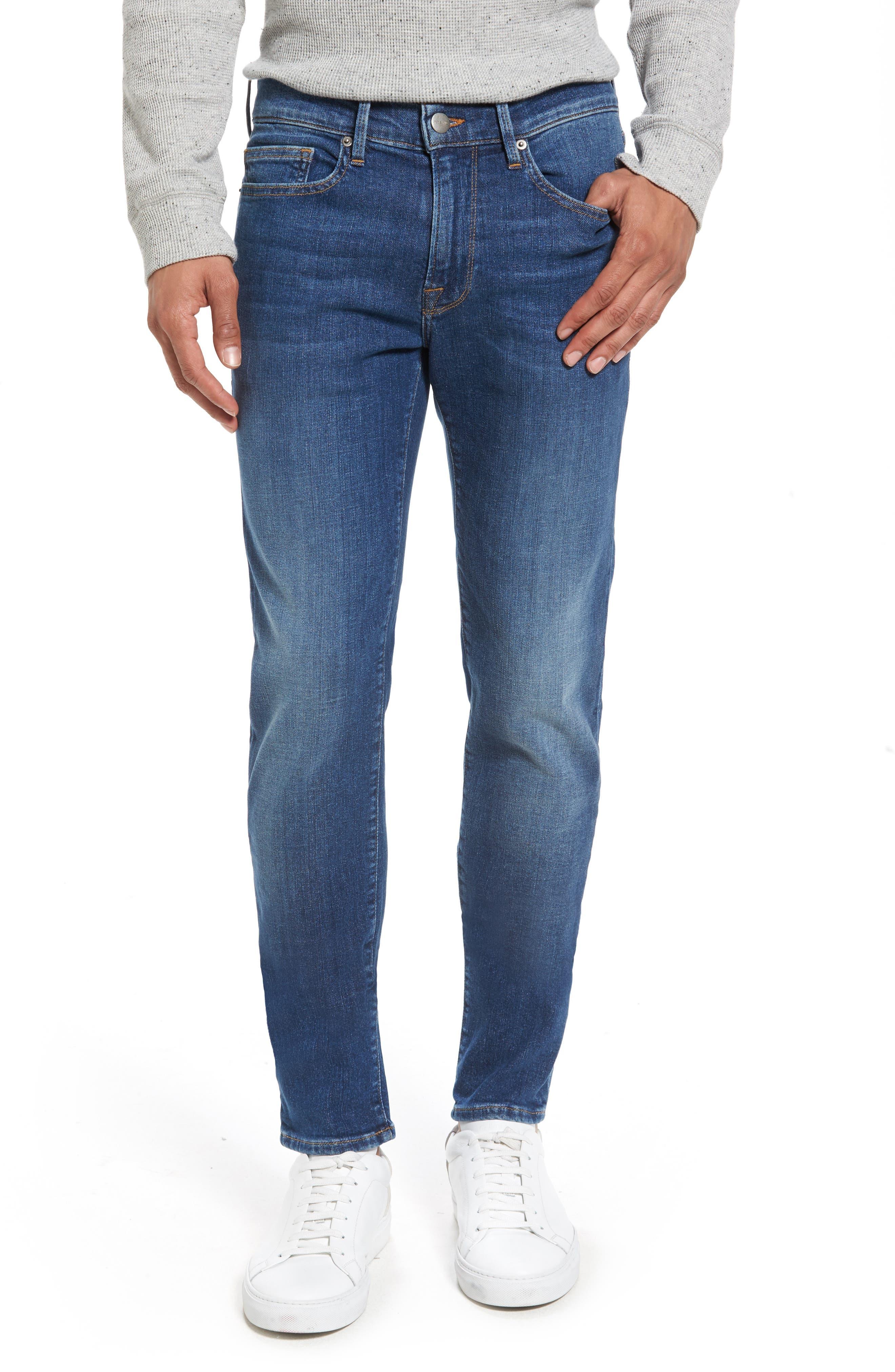 FRAME L'Homme Skinny Fit Jeans (Quartz)