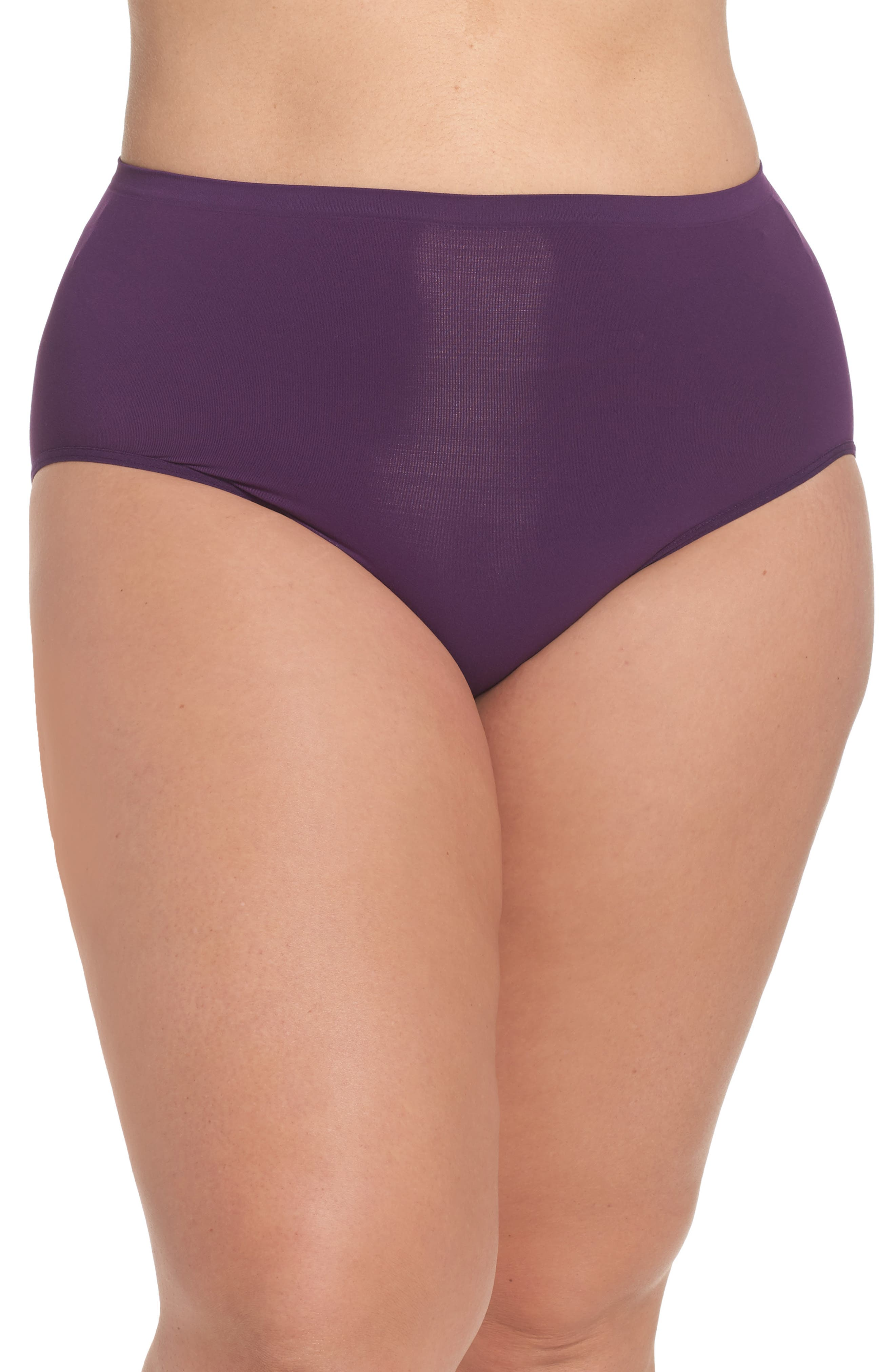 Nordstrom Lingerie Seamless Briefs (Plus Size) (3 for $33)