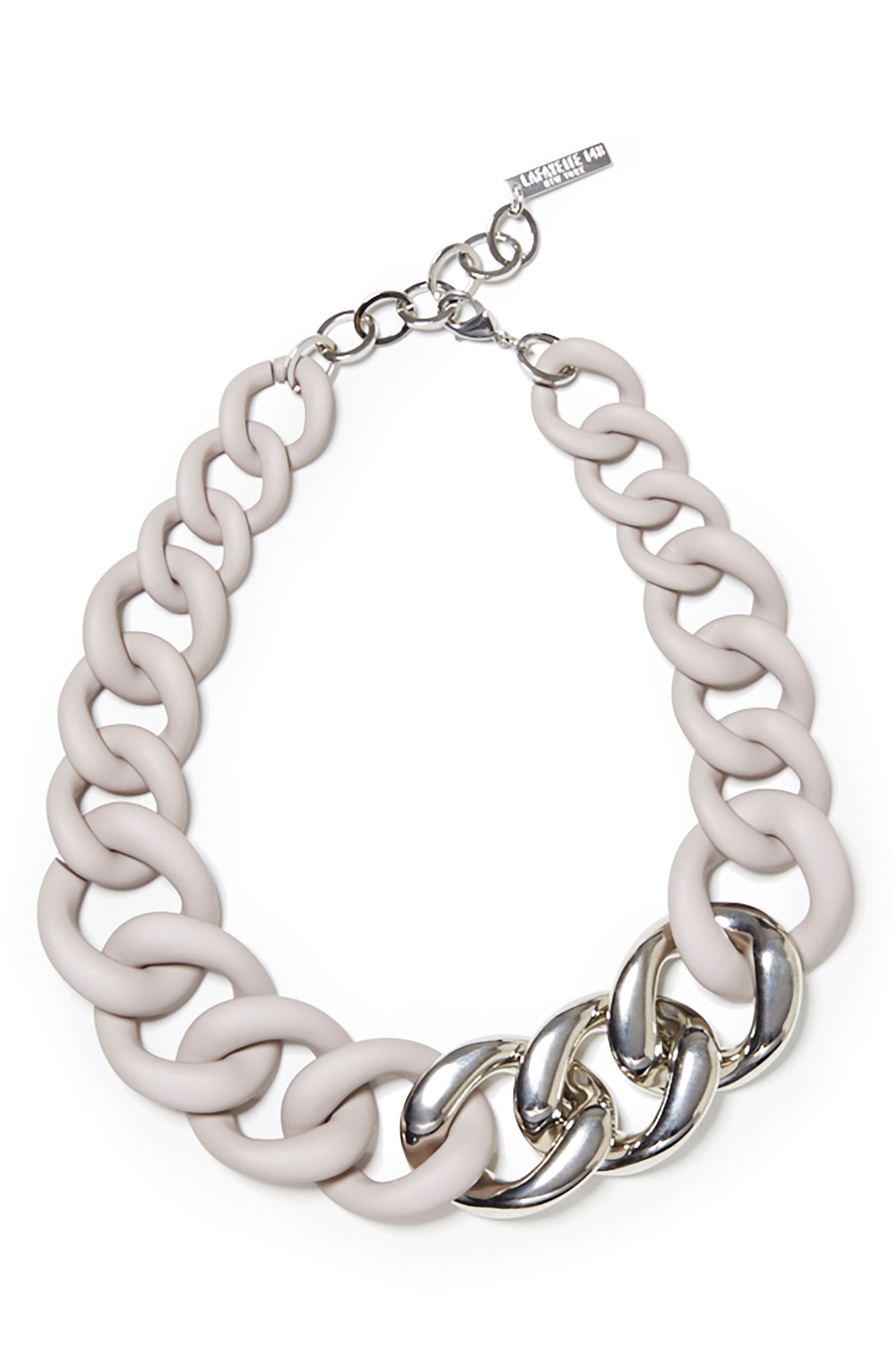 Lafayette 148 New York Chain Link Necklace