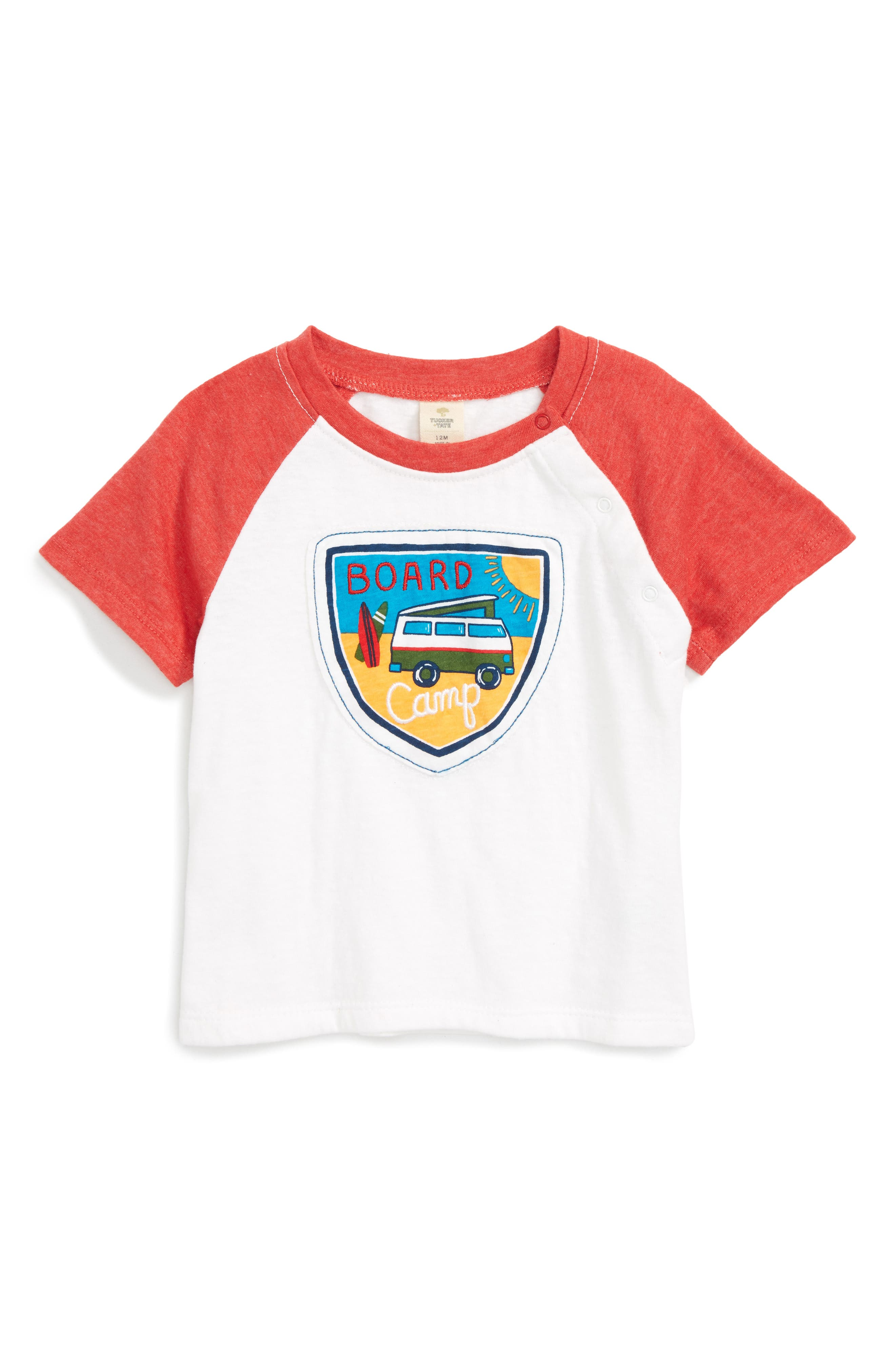 Tucker + Tate Patch T-Shirt (Baby Boys)