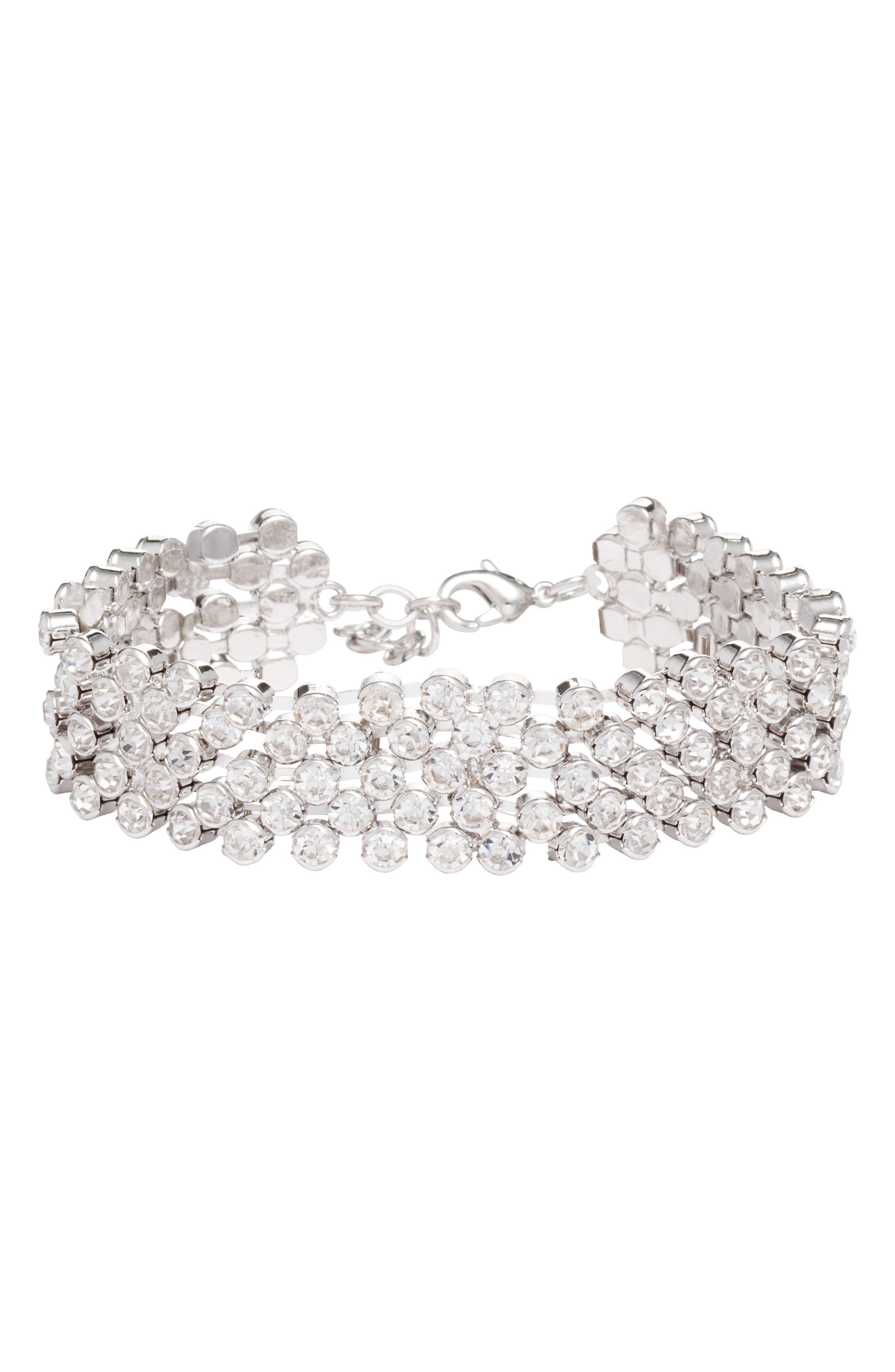 CRISTABELLE Crystal Line Bracelet