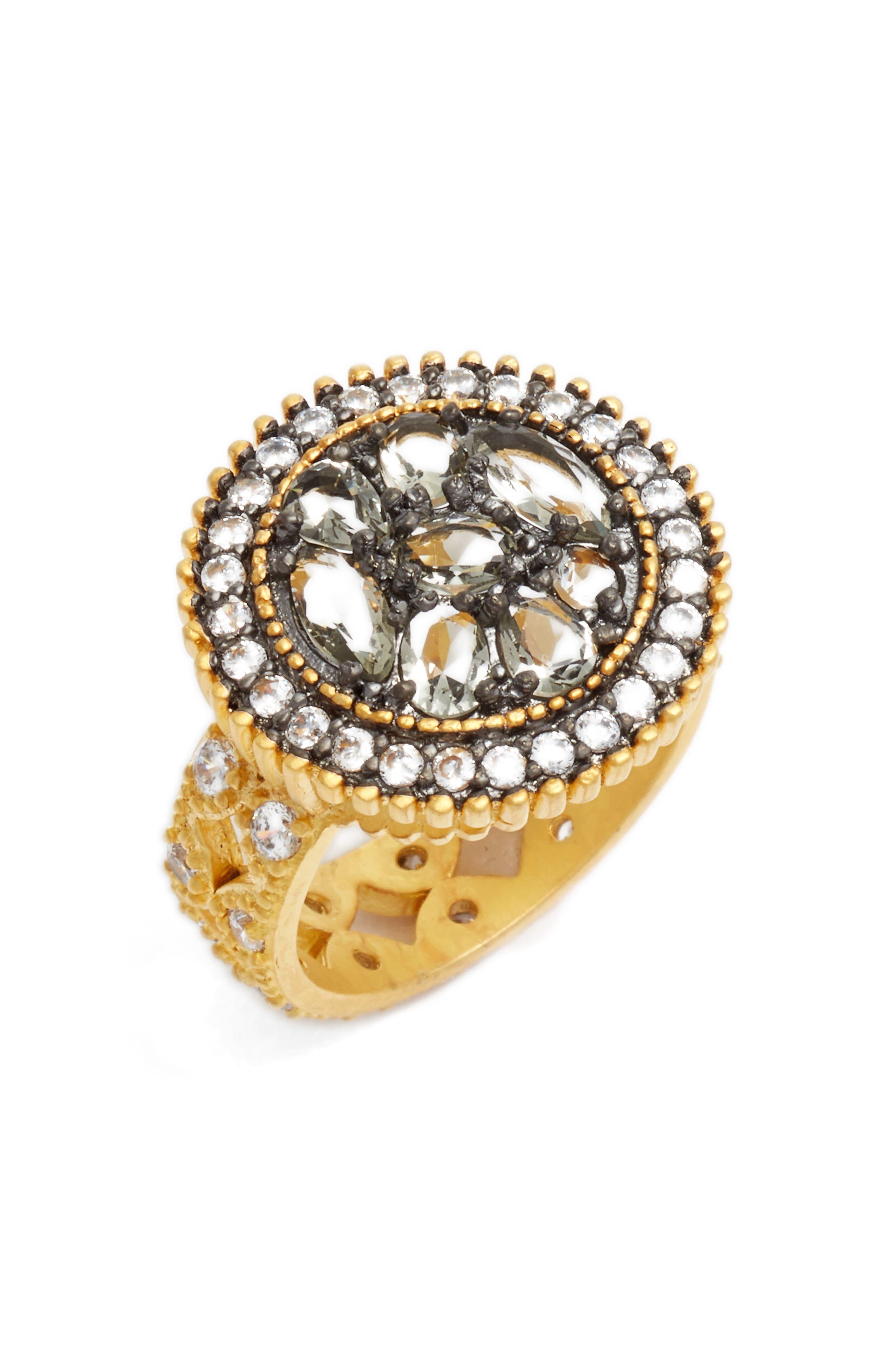 FREIDA ROTHMAN Round Pebble Ring