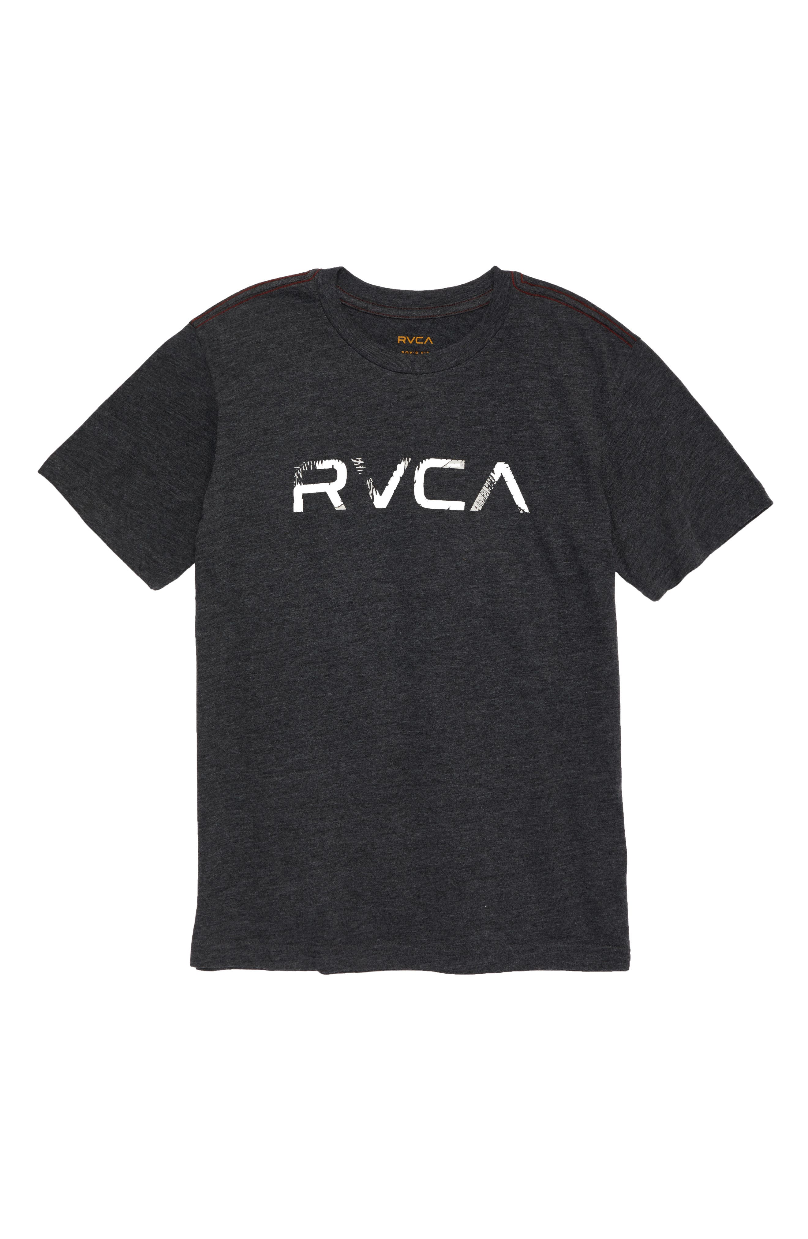 RVCA Logo Graphic T-Shirt (Big Boys)