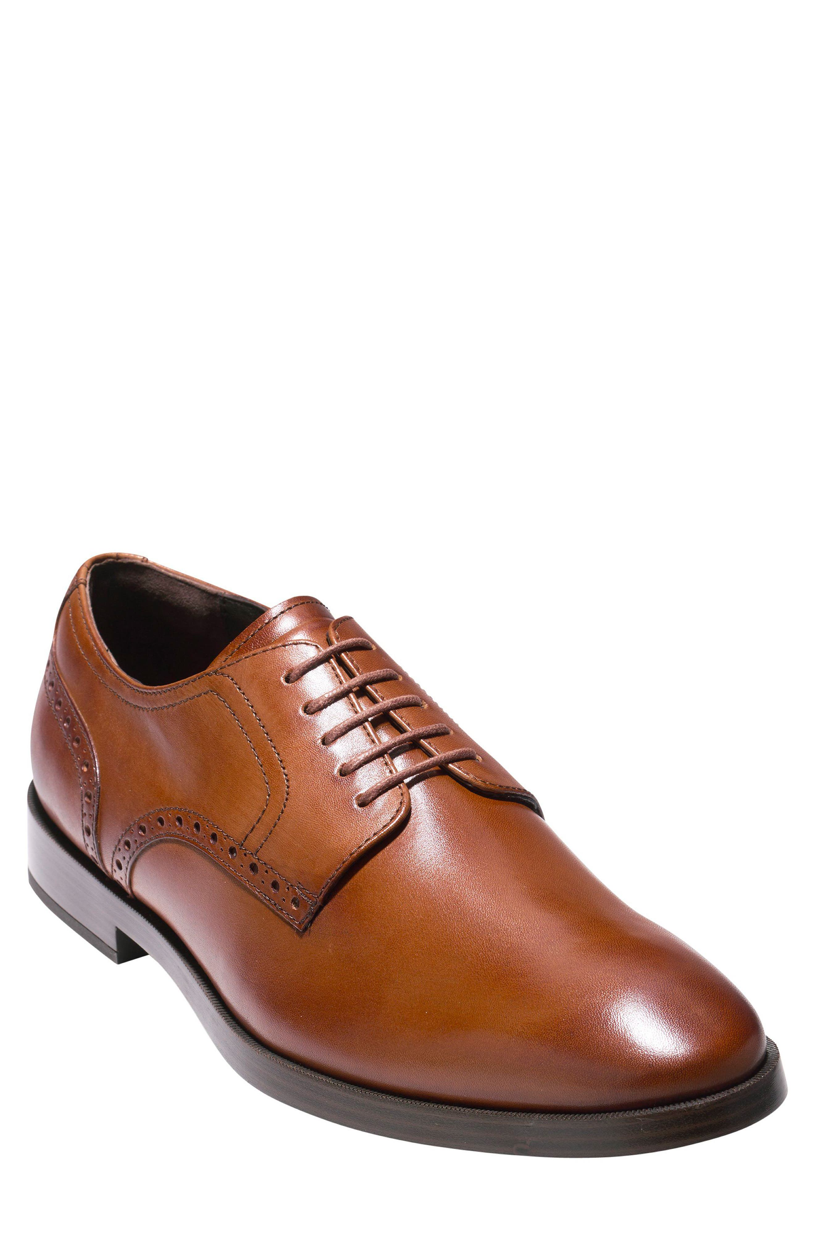 Cole Haan Jefferson Grand Plain Toe Derby (Men)