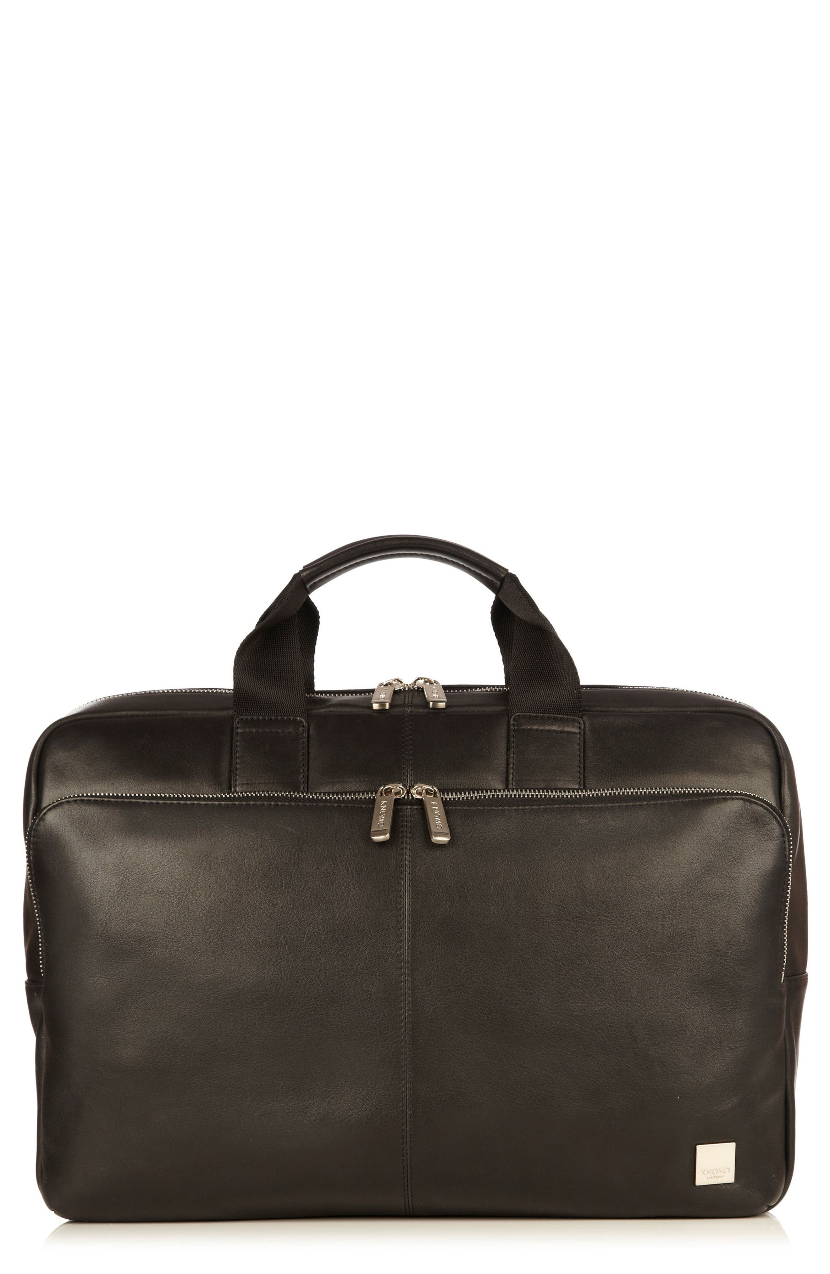 KNOMO London Brompton Newberry Leather Briefcase