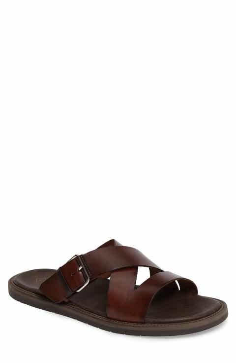 Monte Rosso Vigo Buckled Slide Sandal (Men)