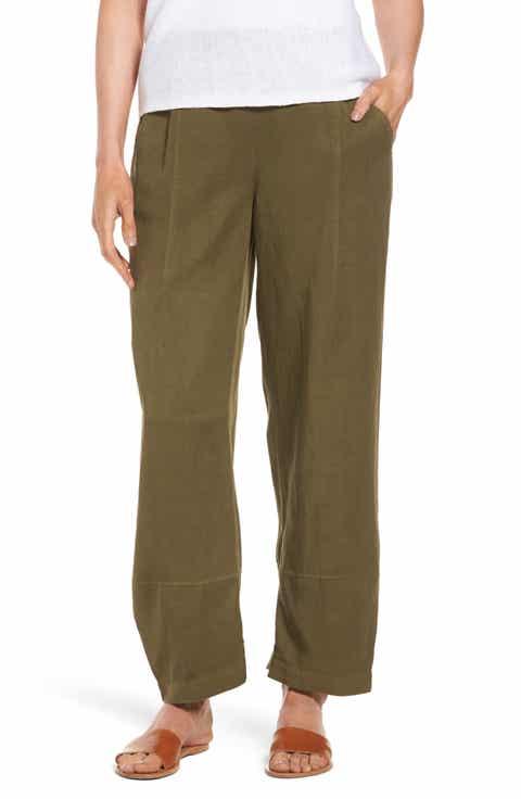 Eileen Fisher Lantern Ankle Pants (Regular   Petite)