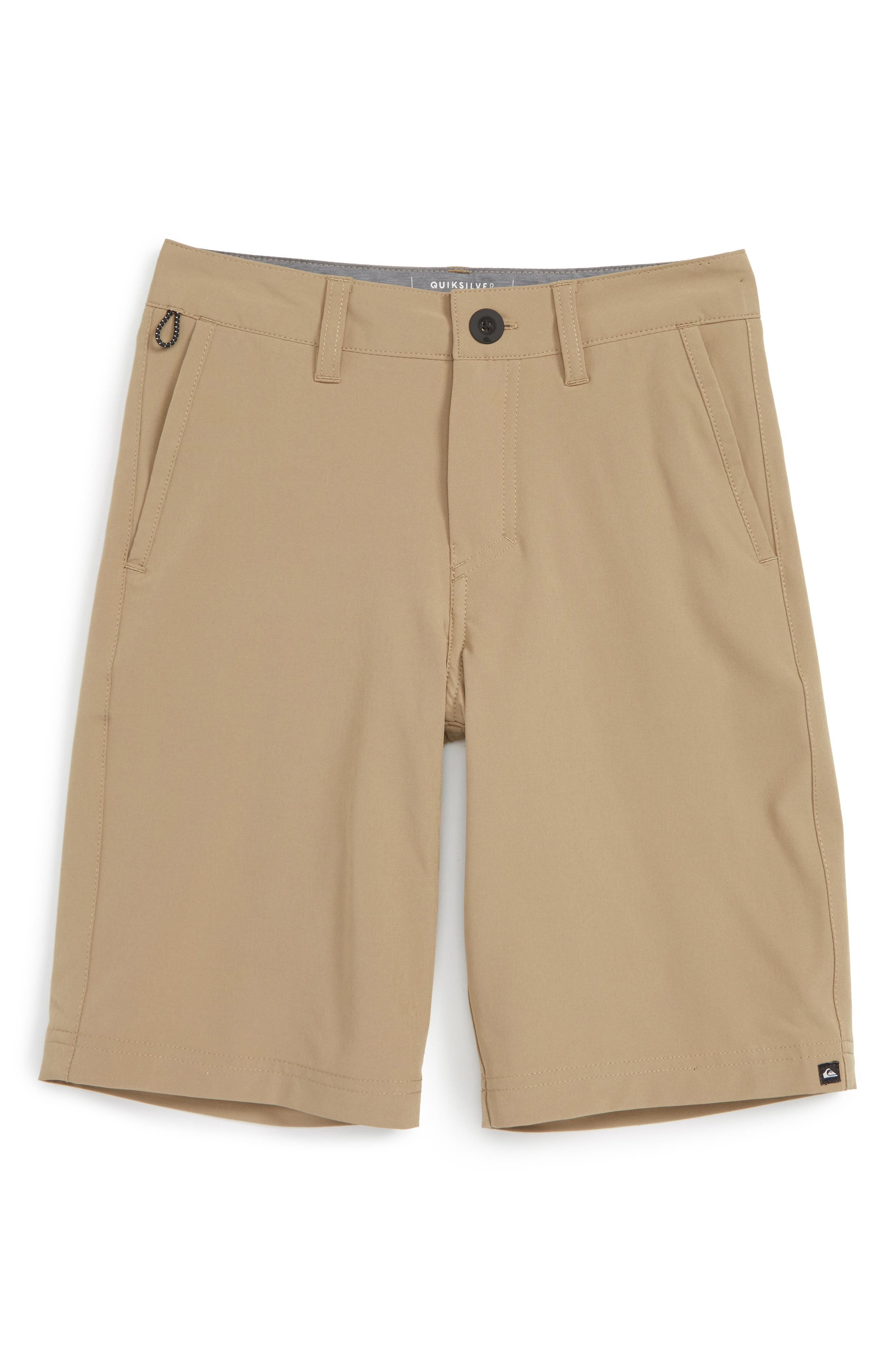 Quiksilver Solid Amphibian Board Shorts (Big Boys)
