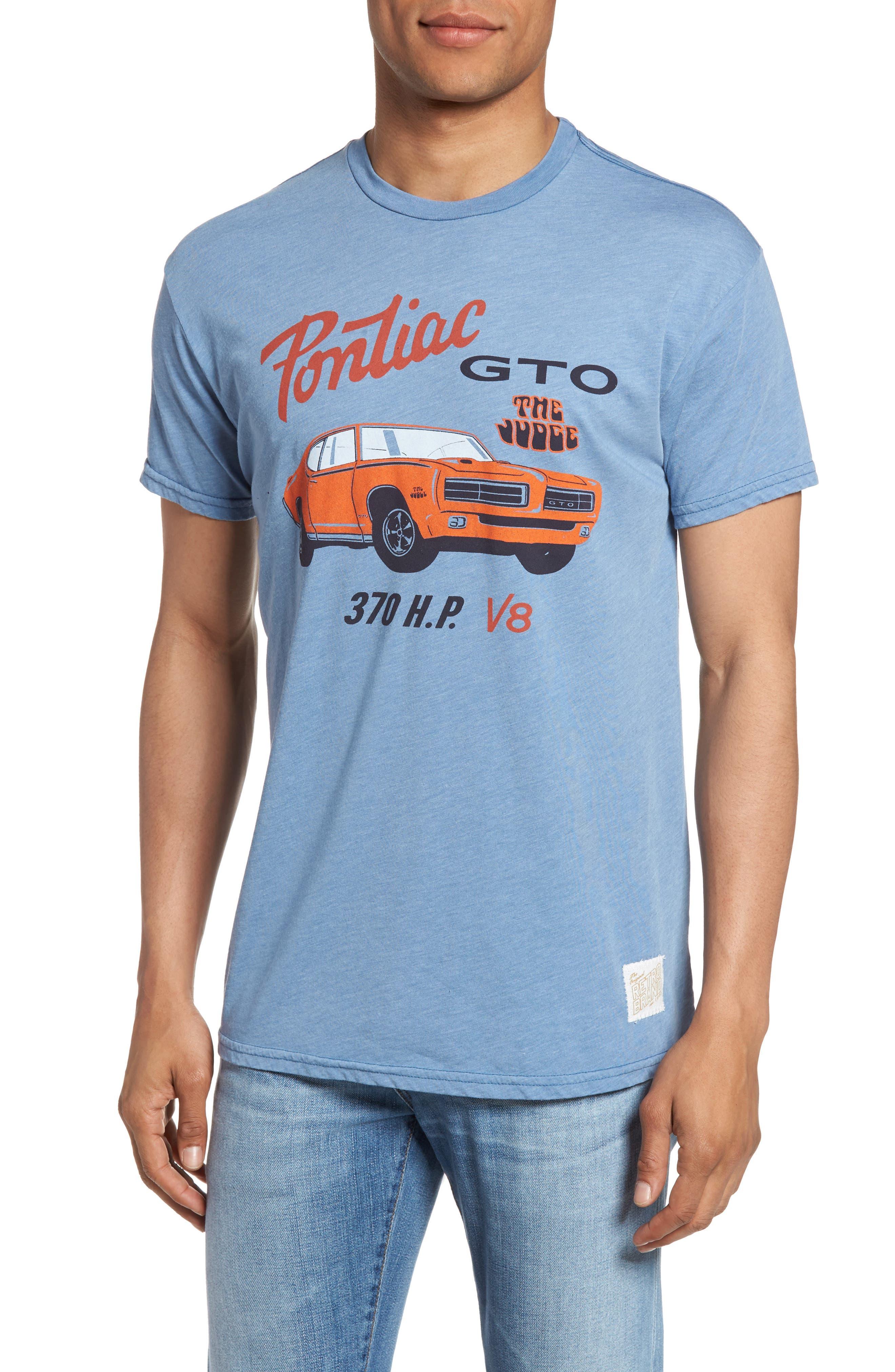 Original Retro Brand Pontiac GTO Graphic T-Shirt