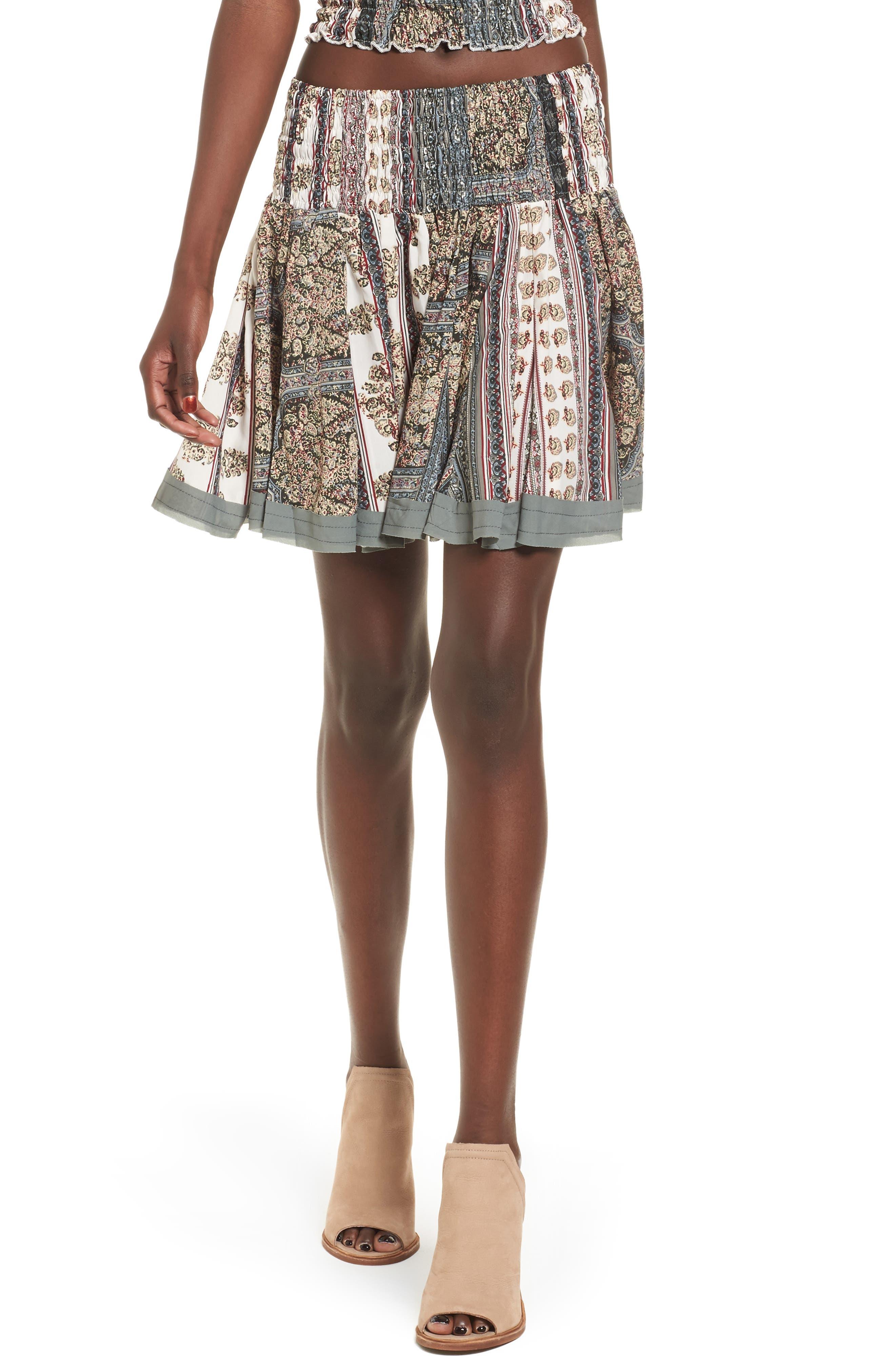 Raga Enchanted Dreams Smocked Skirt
