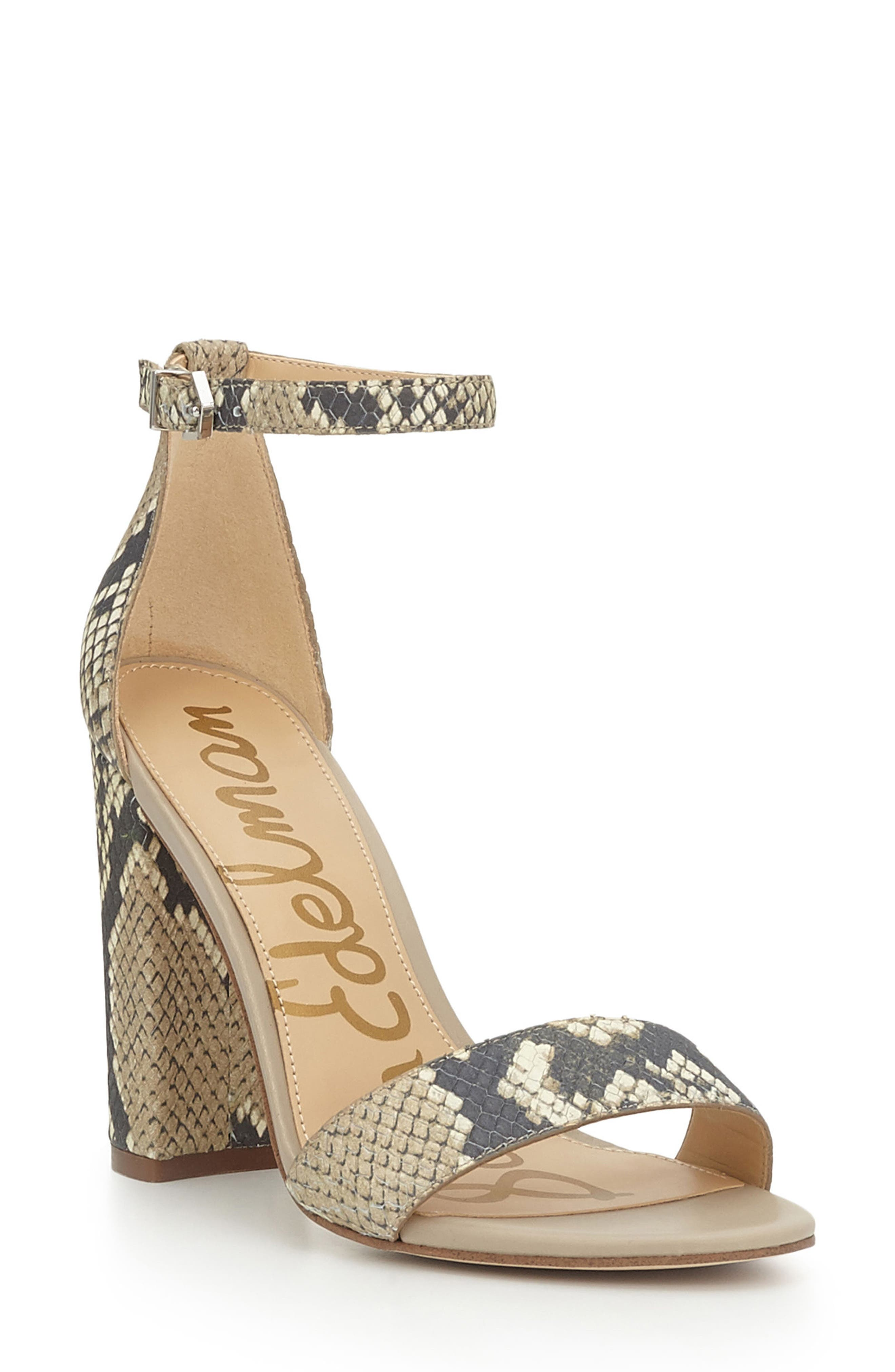 Alternate Image 1 Selected - Sam Edelman Yaro Ankle Strap Sandal (Women)