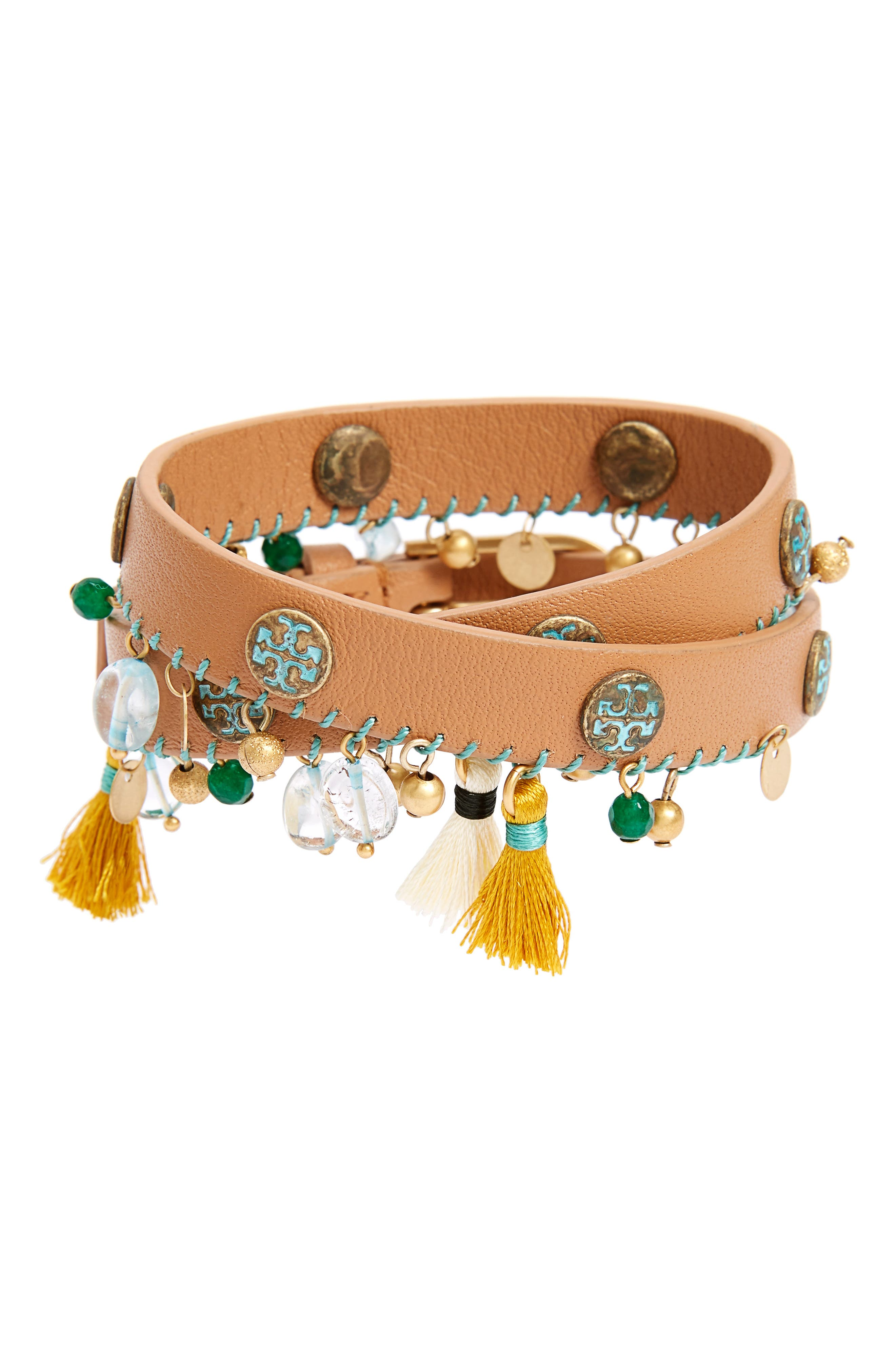 Tory Burch Tassel Drop Bracelet