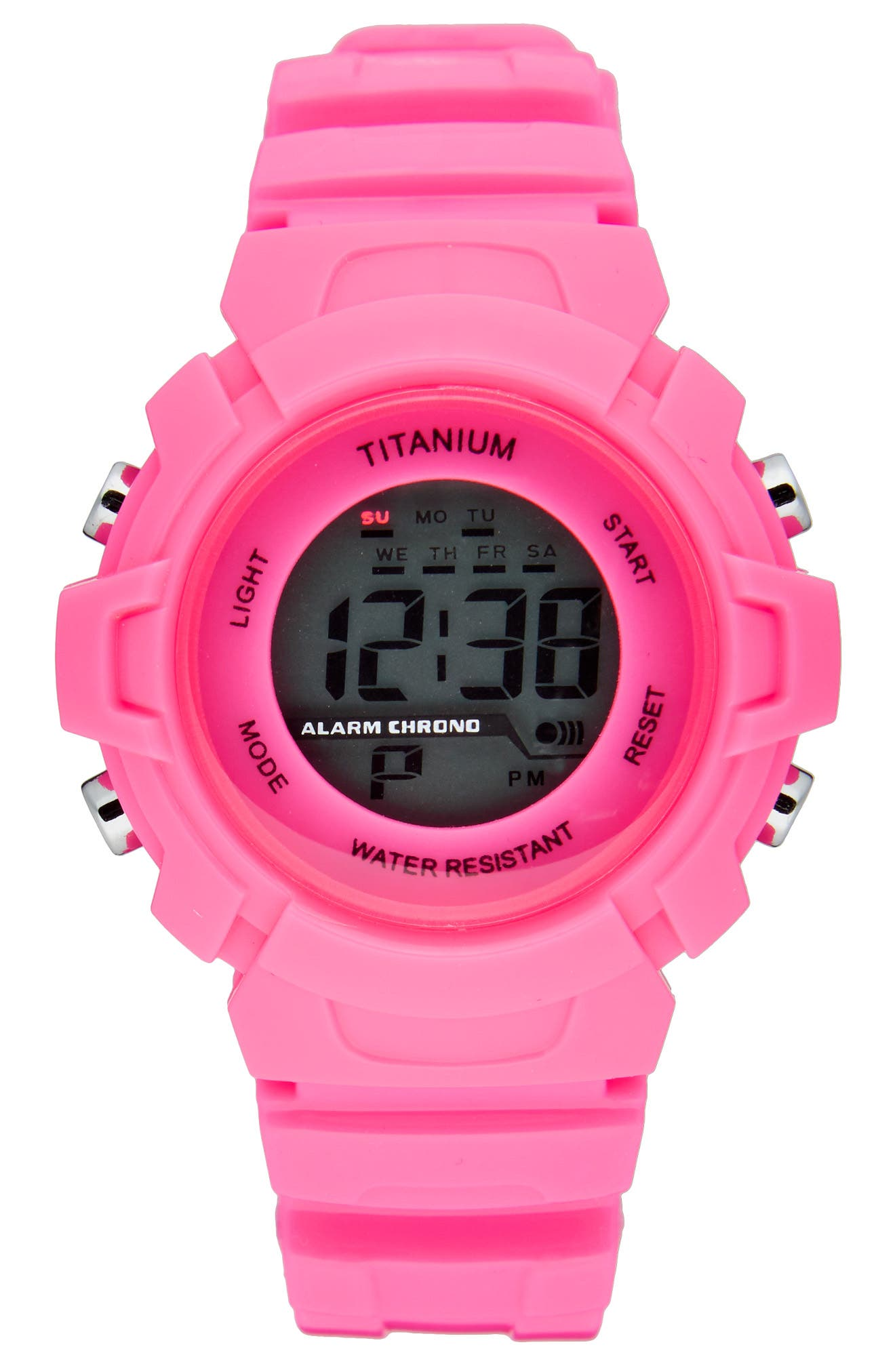 Titanium LCD Waterproof Sport Watch (Kids)
