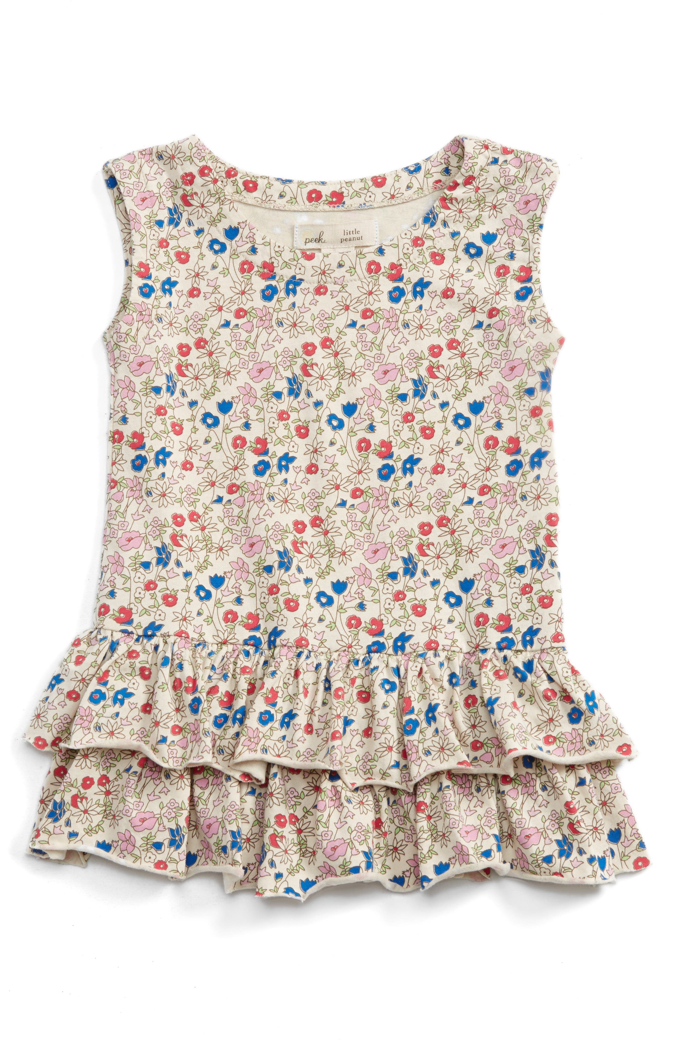 Peek Evie Pima Cotton Dress (Baby Girls)
