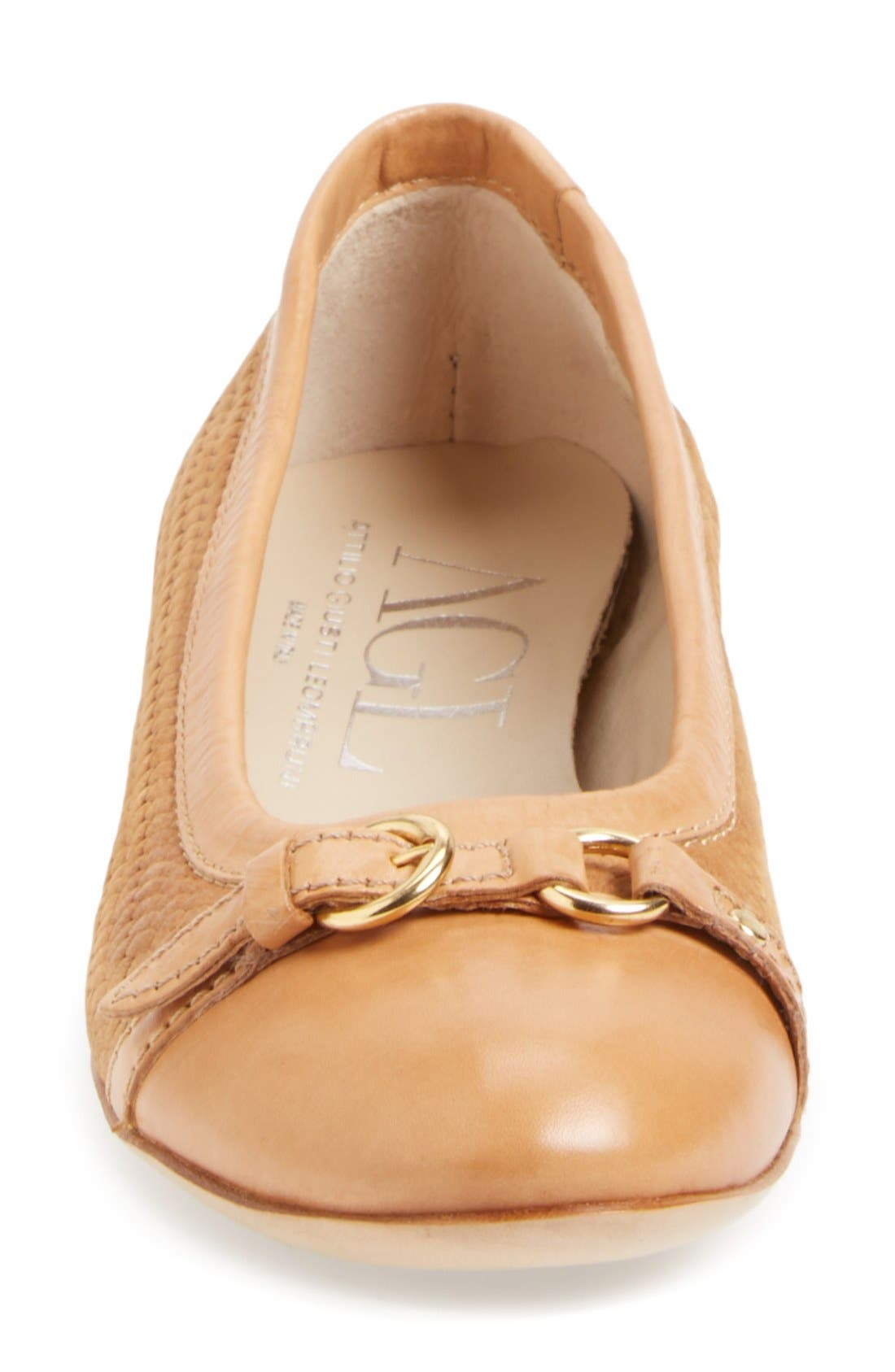 Alternate Image 7  - AGL Attilio Giusti Leombruni Cap Toe Ballet Flat