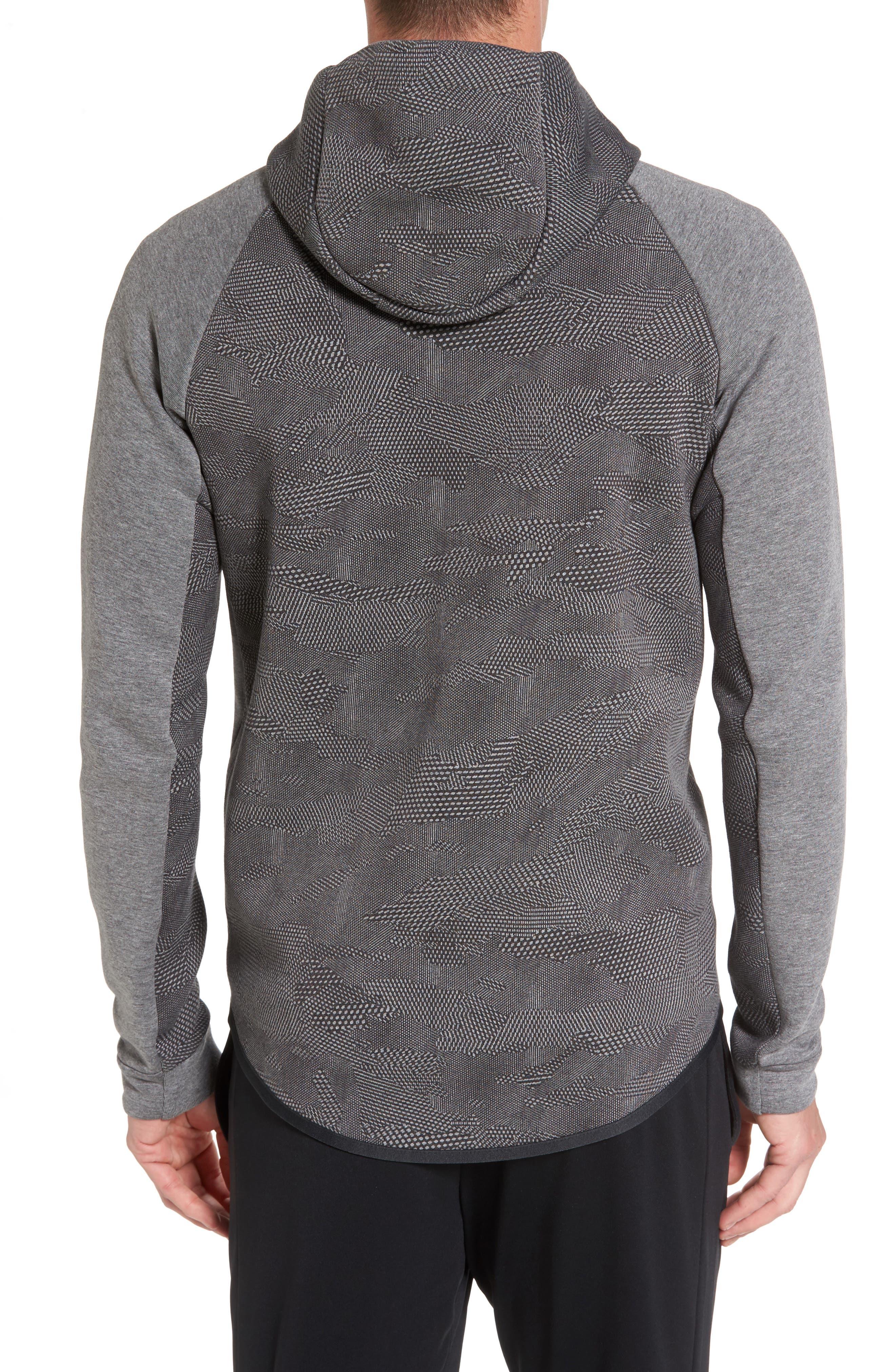 Alternate Image 2  - Nike Sportswear Tech Fleece Windrunner Hoodie