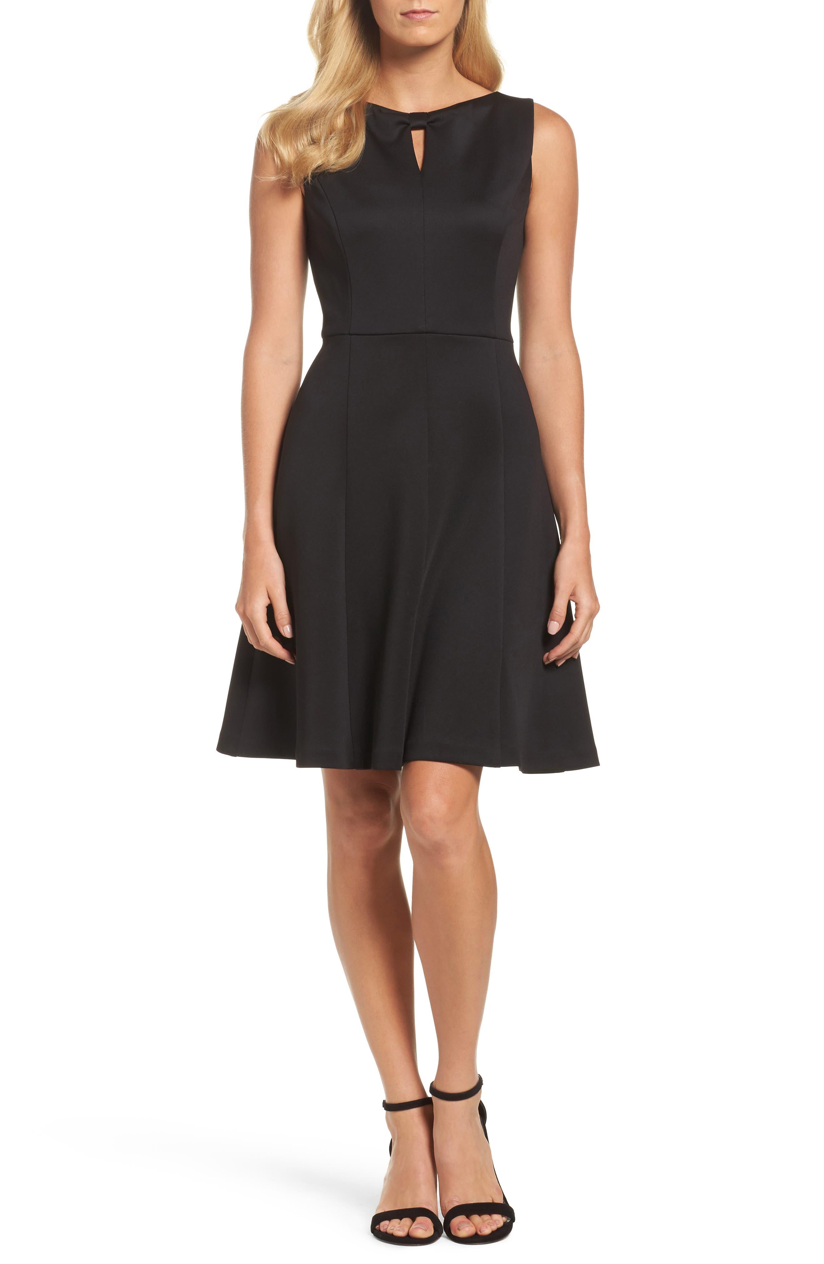 Ellen Tracy Fit & Flare Dress
