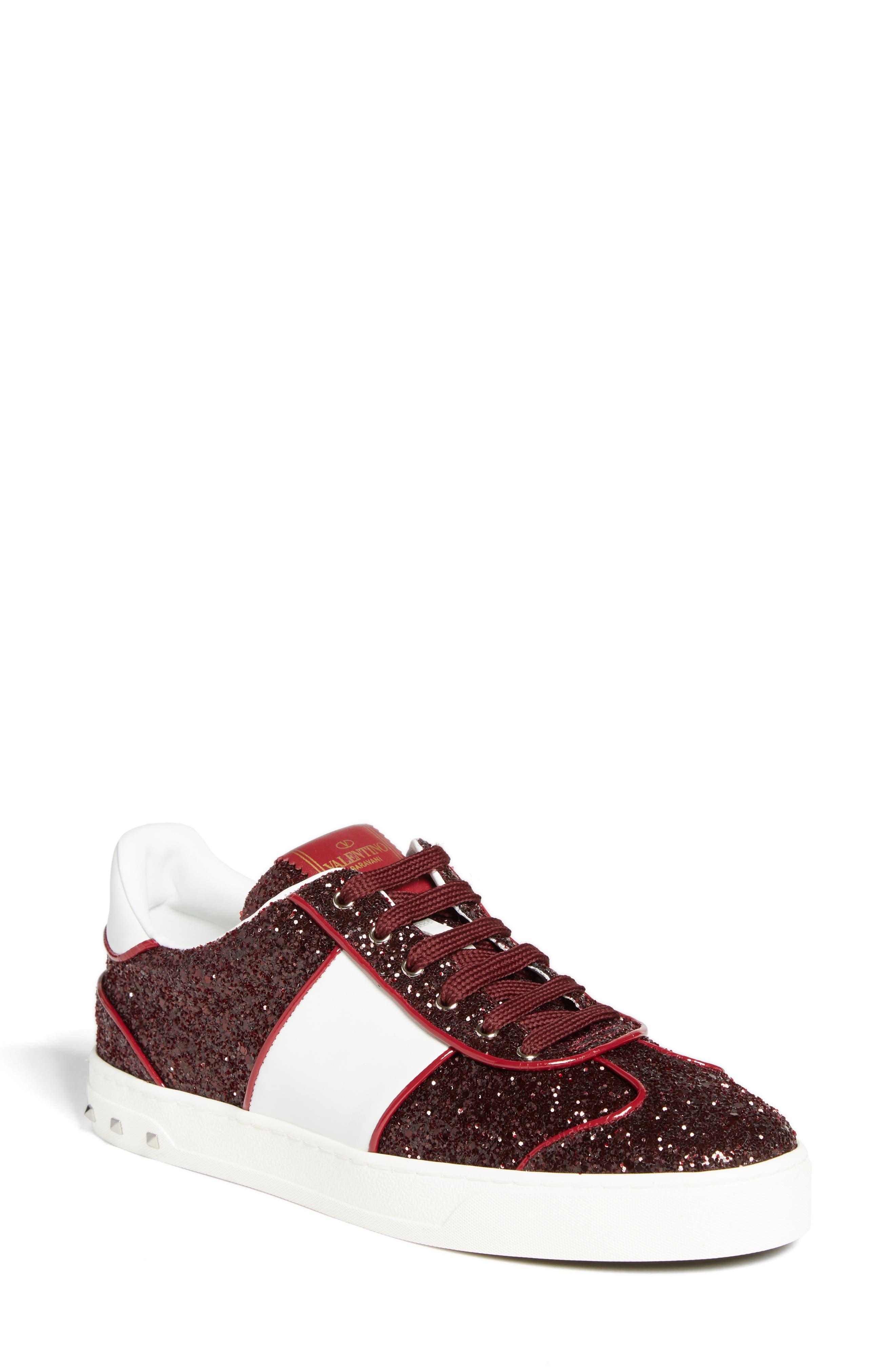 Valentino Flycrew Rockstud Sneaker (Women)