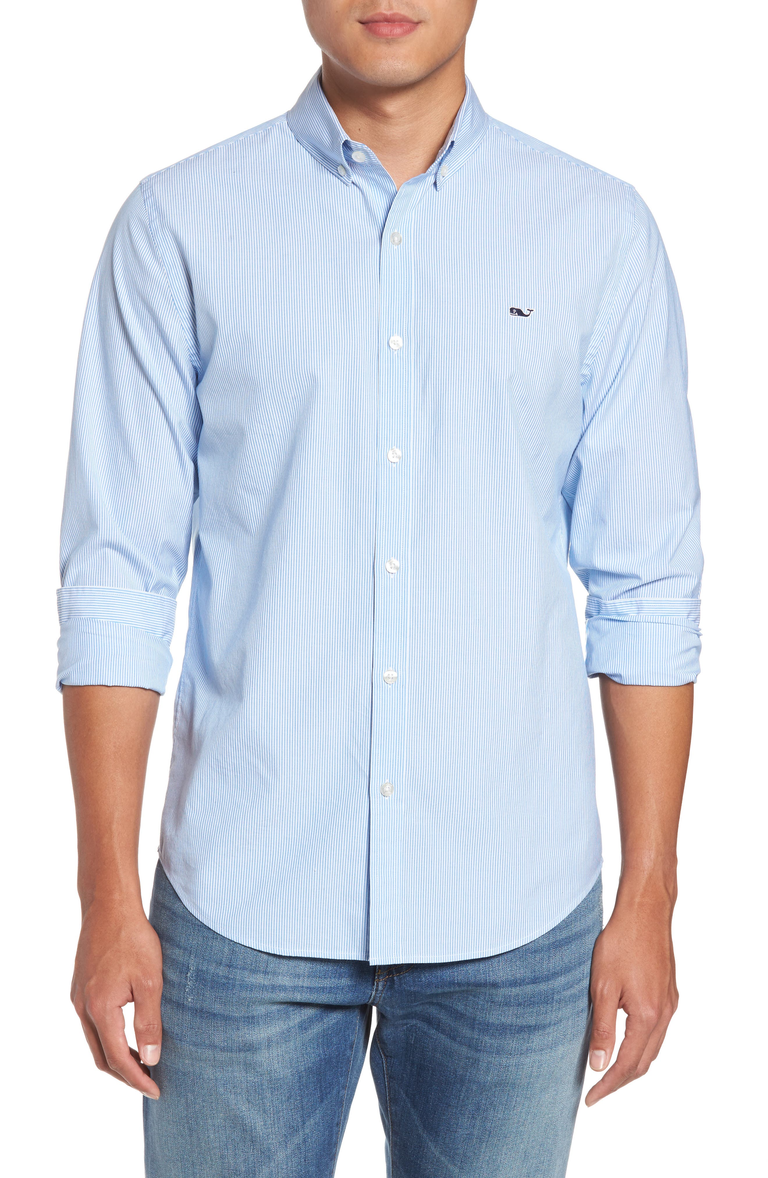 Vineyard Vines Classic Fit Stripe Sport Shirt