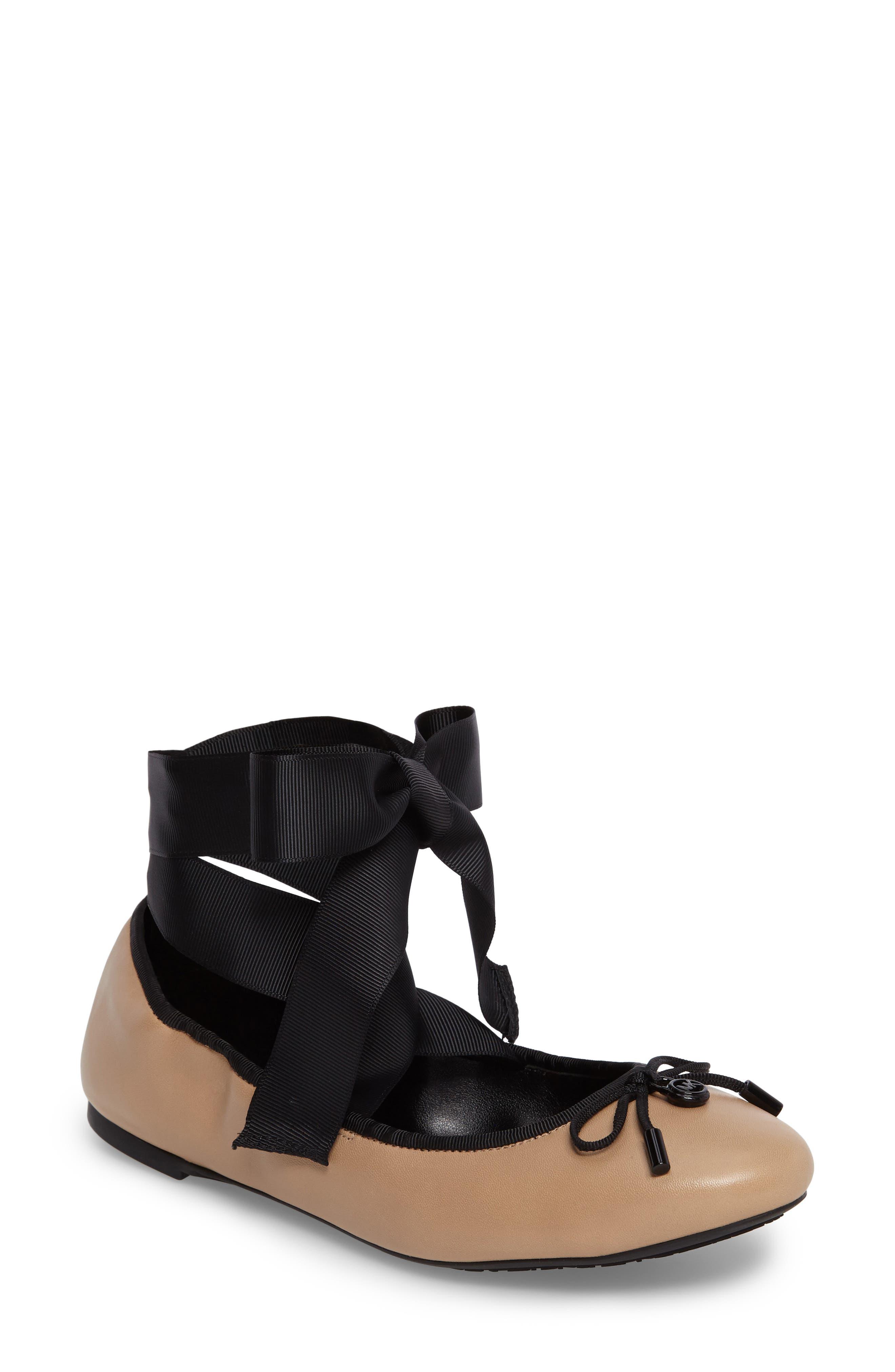 MICHAEL Michael Kors Myles Ballet Flat (Women)