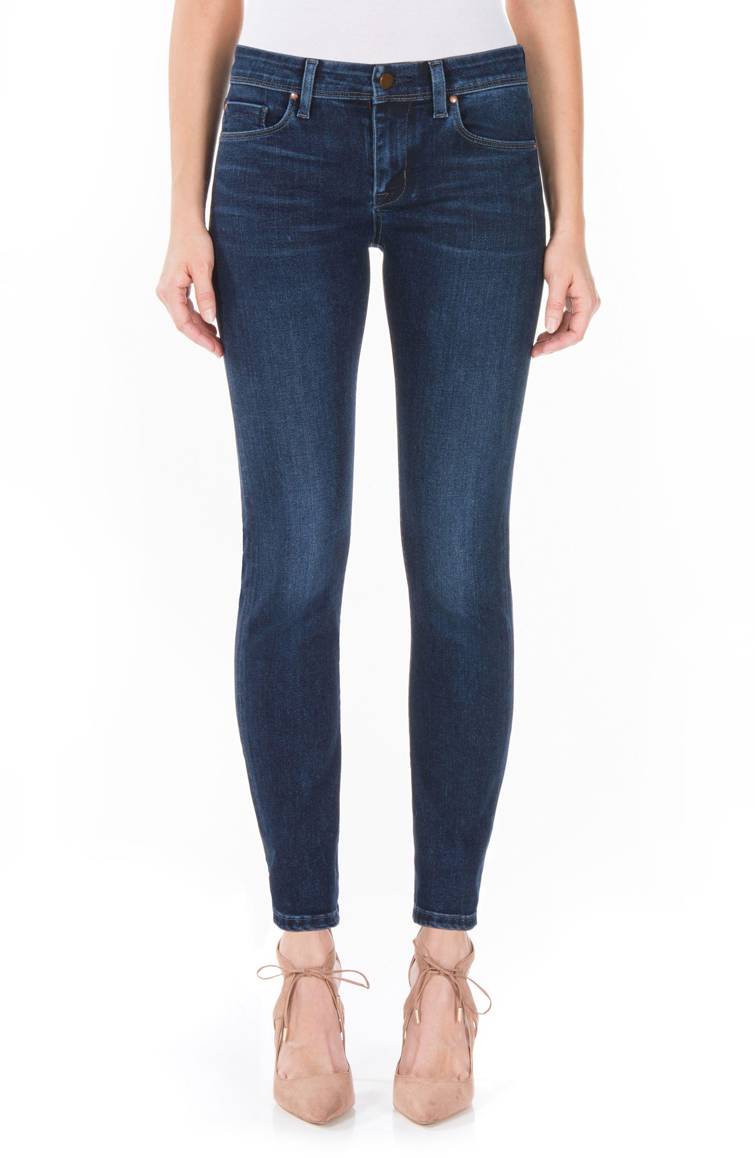 Fidelity Denim Mila Ankle Skinny Jeans (Neptune)